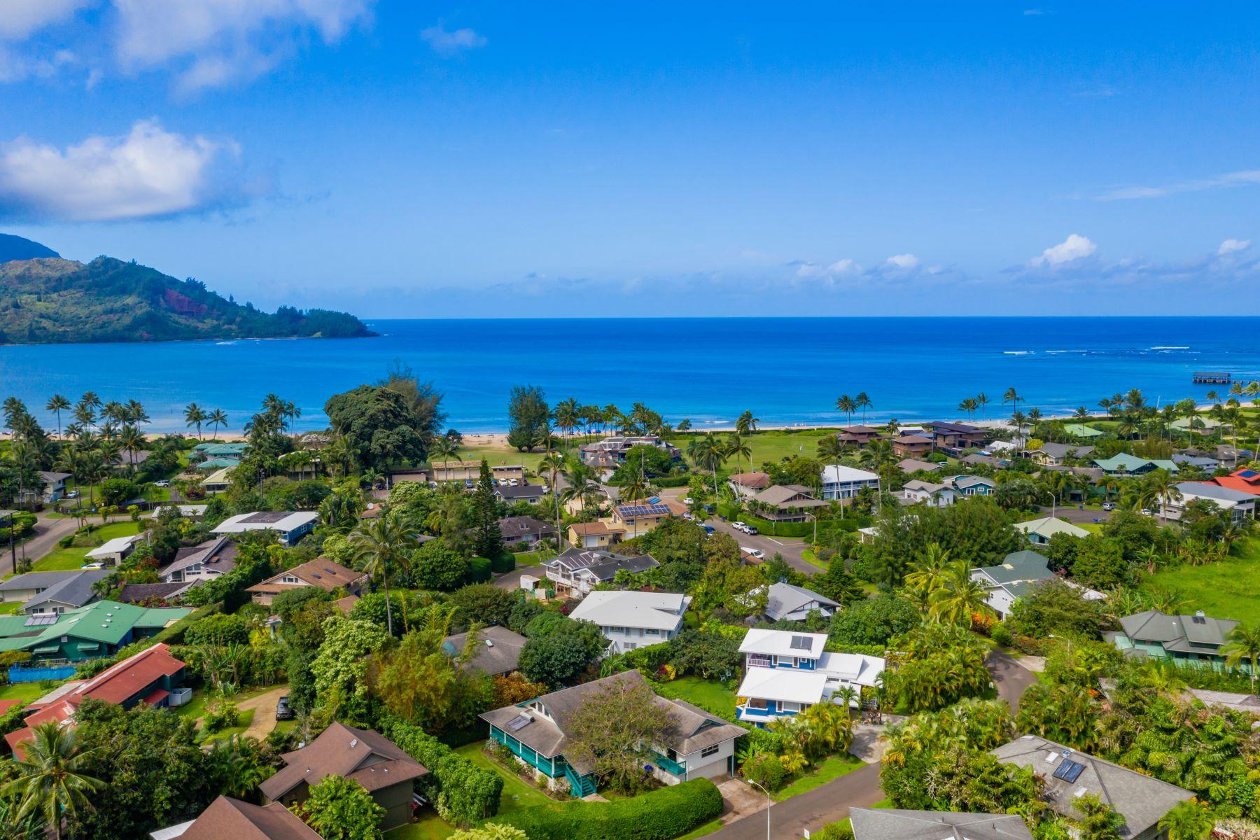 Single Family Homes för Försäljning vid 4494 Pilikoa Street. 4494 Pilikoa Street Hanalei, Hawaii 96714 Förenta staterna