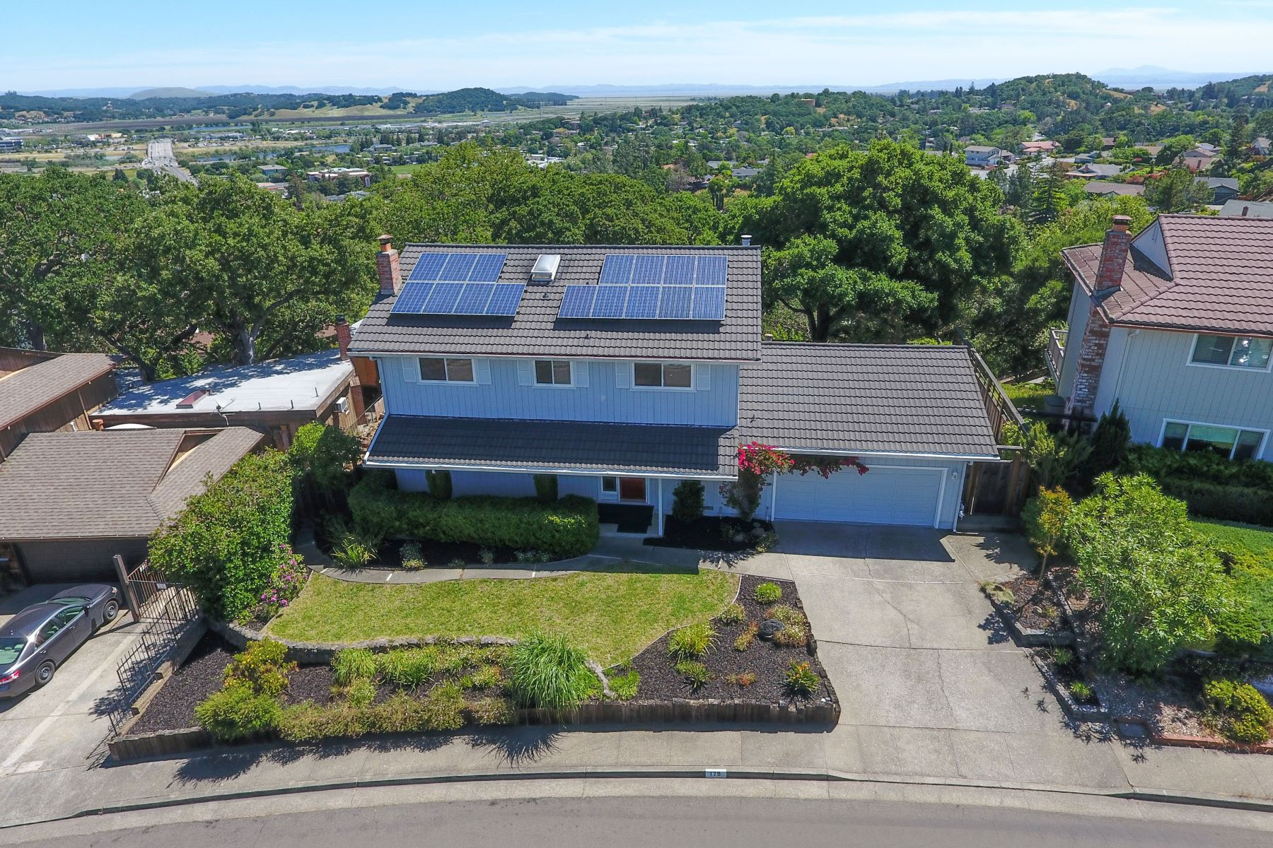 Single Family Home for Sale at Backyard Bliss in Southern Novato 179 Drakewood Place Novato, California 94947 United States