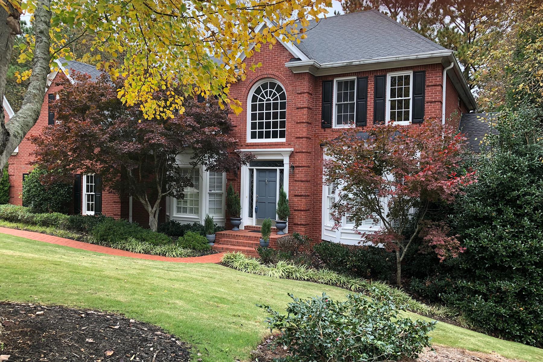 Single Family Home for Sale at East Cobb Brick Beauty 4846 Trevor Court Marietta, Georgia 30068 United States