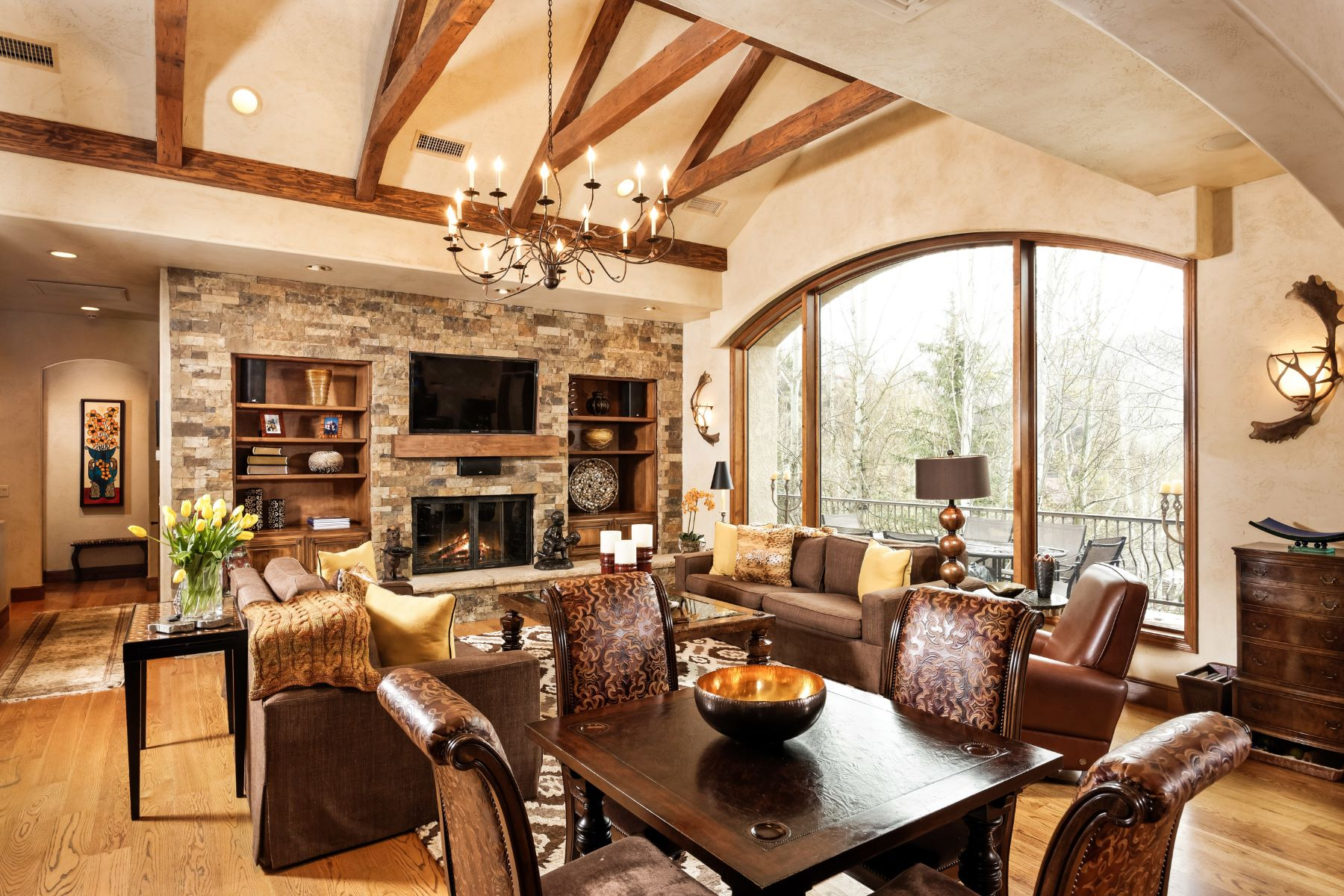 一戸建て のために 売買 アット Beautifully Appointed Mountain Elegance in Horse Ranch 332 Branding Lane, Snowmass Village, コロラド, 81615 アメリカ合衆国