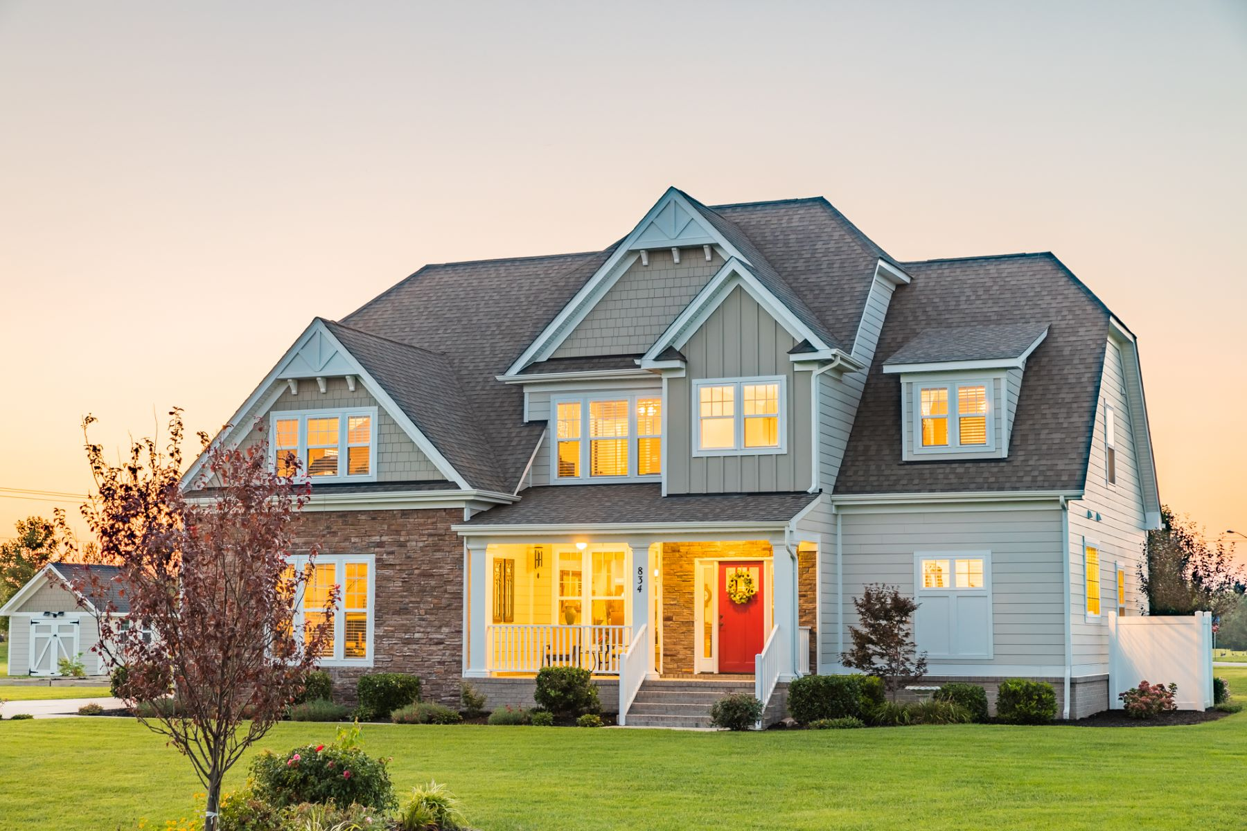 Single Family Homes for Active at Grassfield Meadows 834 Majestic Court Chesapeake, Virginia 23323 United States