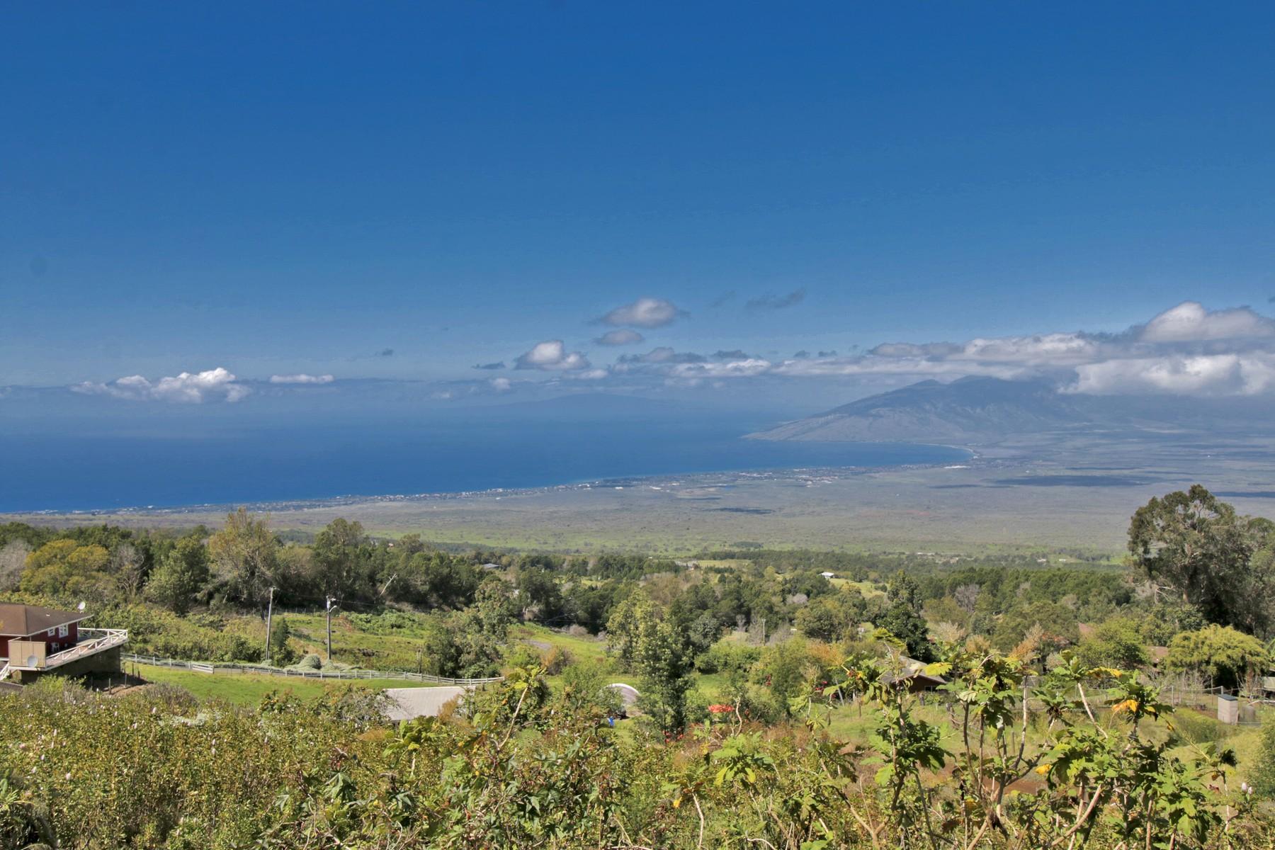 Land for Active at Kula Expansive Bi-Coastal Views 1617 Polipoli Road Kula, Hawaii 96708 United States