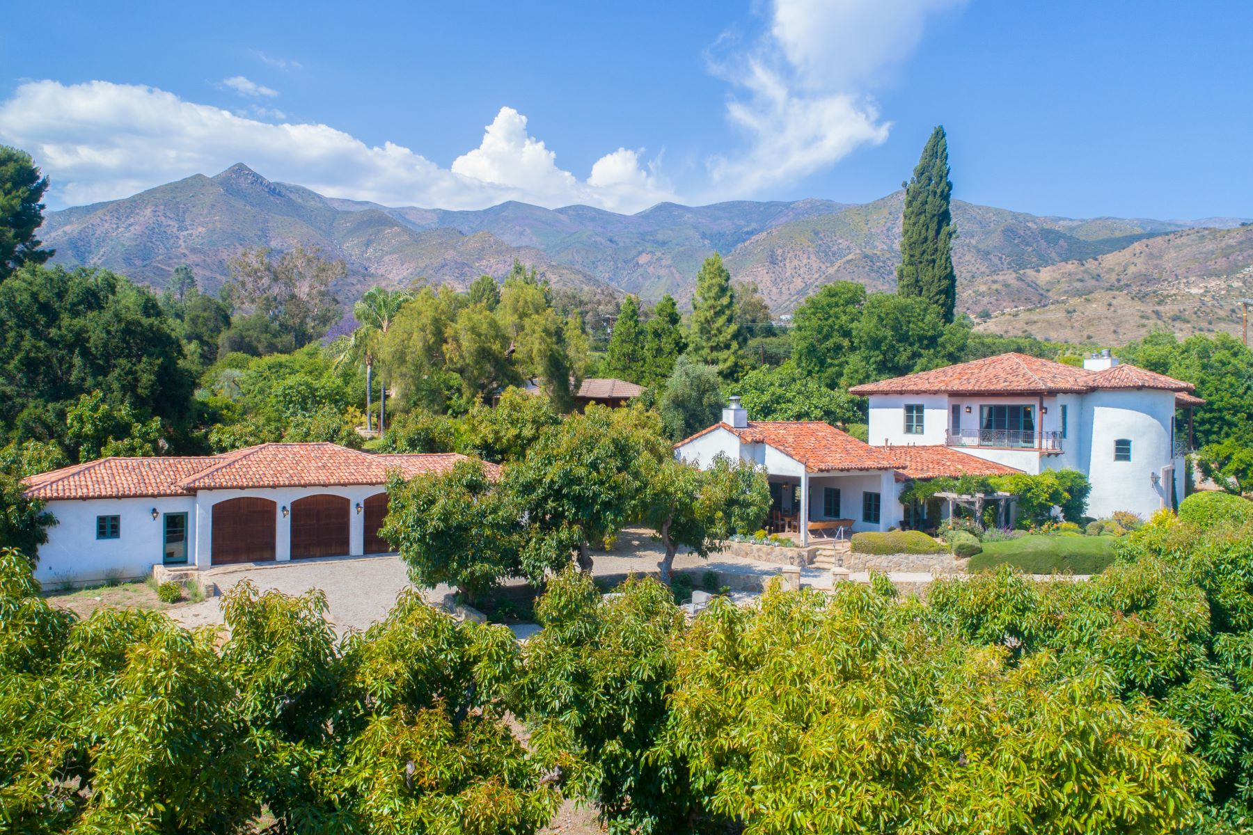 Single Family Homes for Sale at Experience quintessential Ojai living 805 McAndrew Road Ojai, California 93023 United States