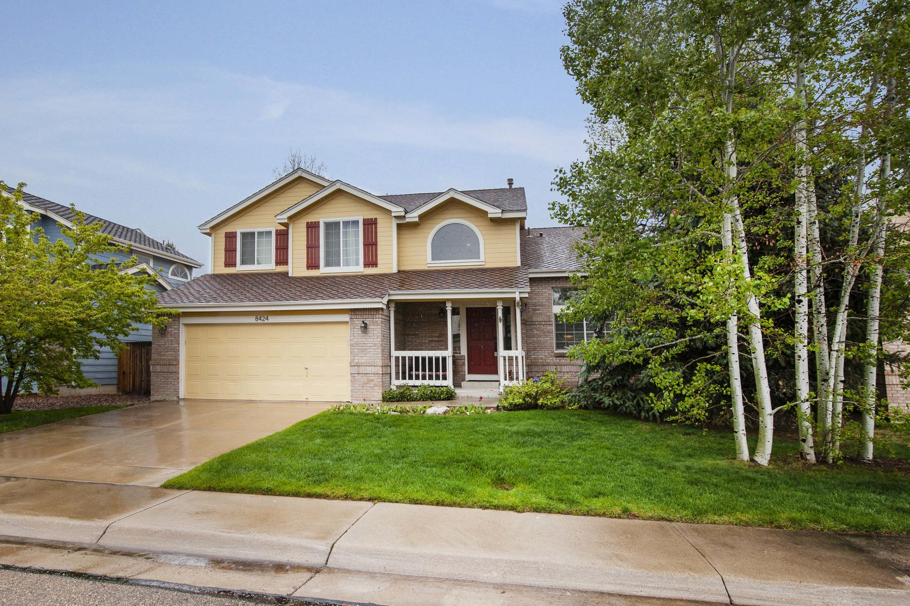 Single Family Homes for Sale at Welcome Home to this Amazing 4 Bed/3 Bath Gem in the Highly Sought After Arvada 8424 Oak Way Arvada, Colorado 80005 United States