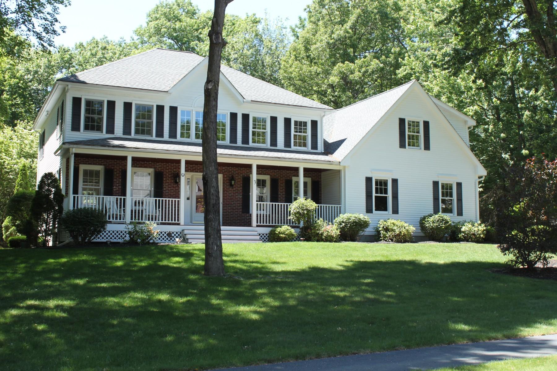Single Family Homes for Active at Stately Coachman Ridge Colonial 3 Cobblestone Way Shrewsbury, Massachusetts 01545 United States