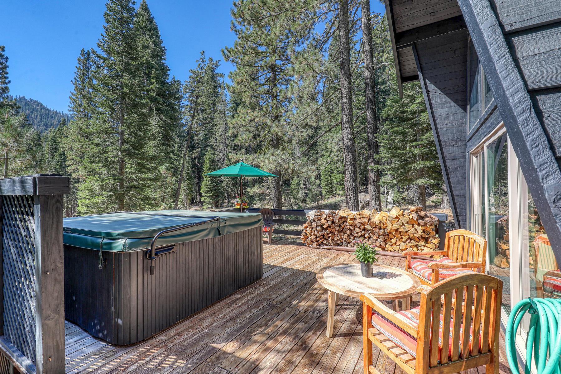 Single Family Homes 为 销售 在 Stylish Alpine Meadows Chalet 1825 Deer Park Drive 阿尔派恩, 加利福尼亚州 96146 美国