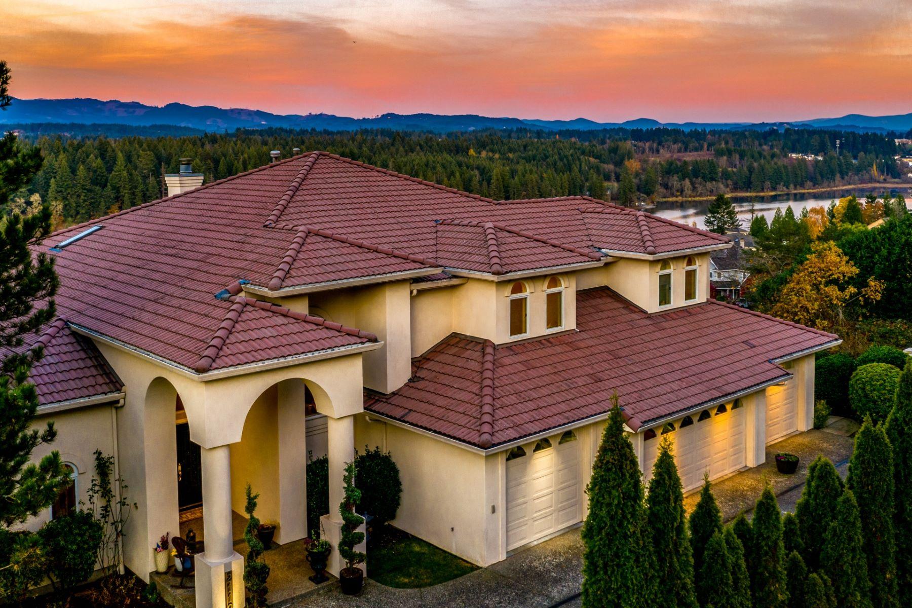 Single Family Homes for Sale at Stunning Amenities, Lake Views 2119 NW Lake Rd Camas, Washington 98607 United States