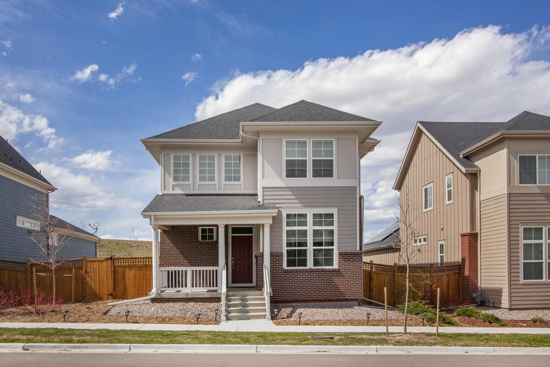 Single Family Homes for Active at Nearly New, Sunlight Filled, Energy Efficient Home 9731 Eaton Street Westminster, Colorado 80020 United States
