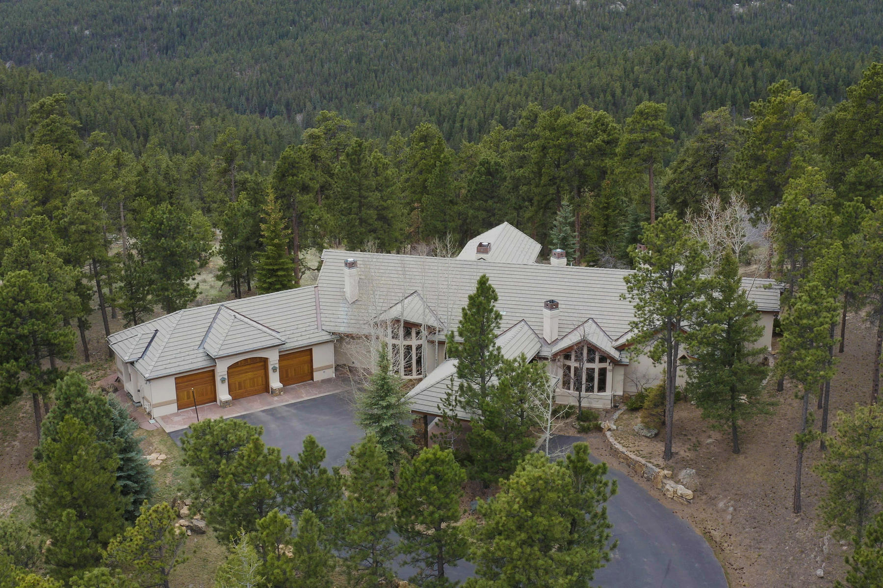 Single Family Homes for Sale at 31483 Morning Star Drive Evergreen, Colorado 80439 United States