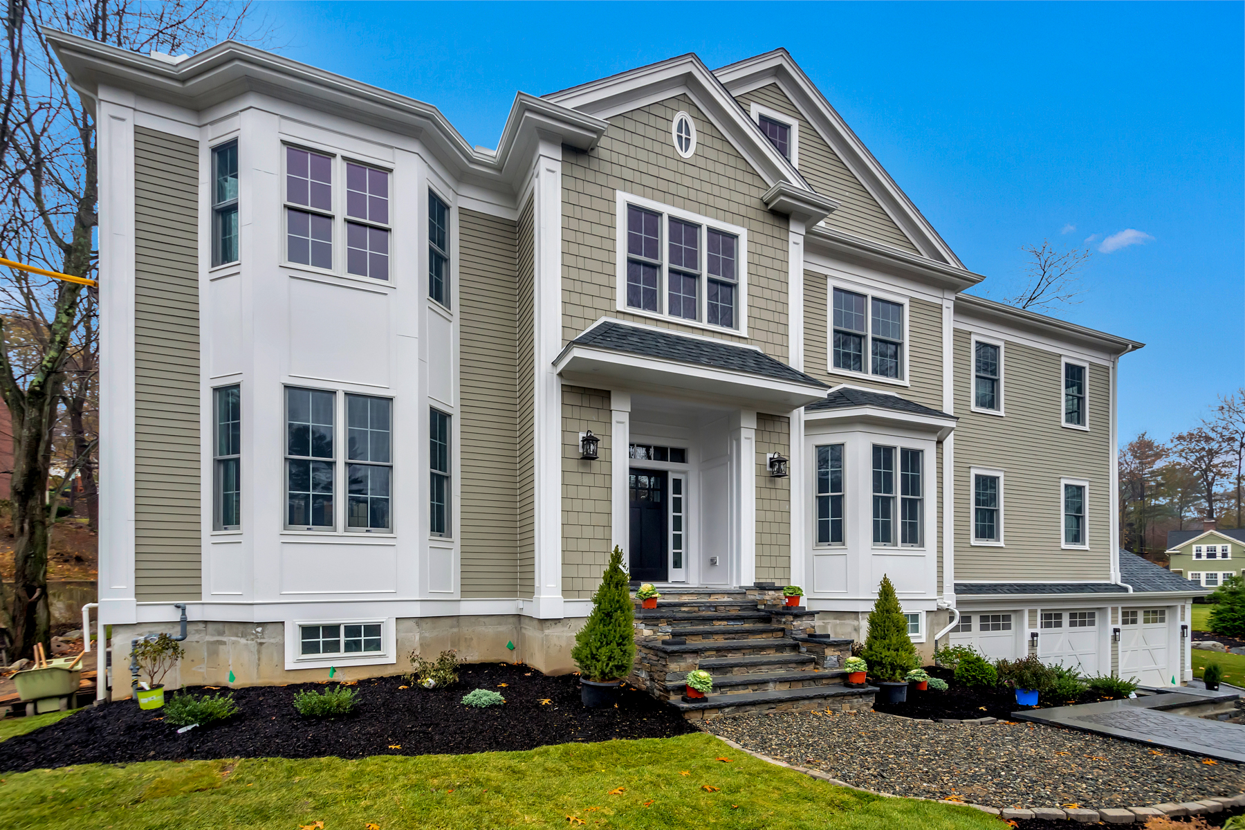 Single Family Homes for Sale at New Construction Luxury 6 Bed Home in Winchester 5 Dean Road Winchester, Massachusetts 01890 United States