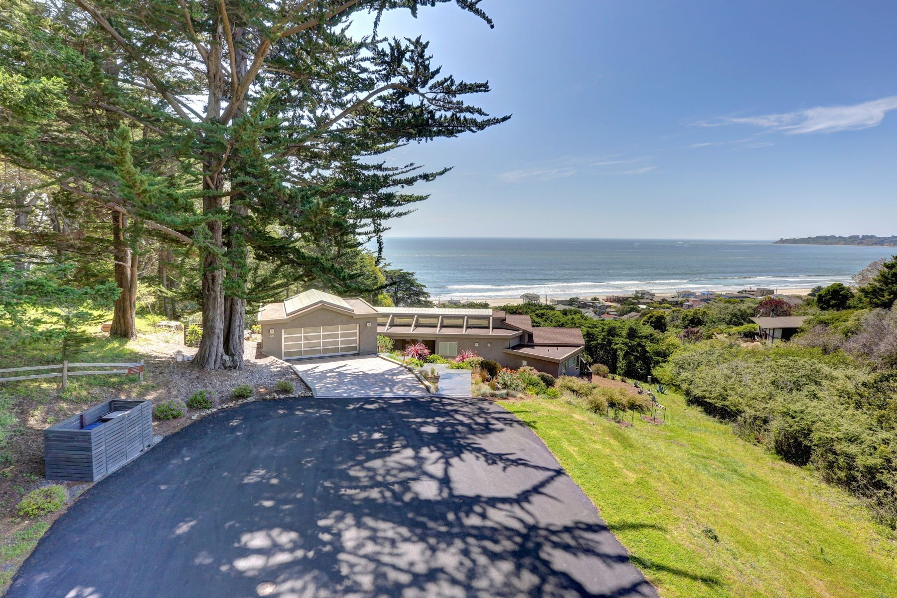 Single Family Homes for Sale at Modern Excellence 60 Puente Rizal Stinson Beach, California 94970 United States