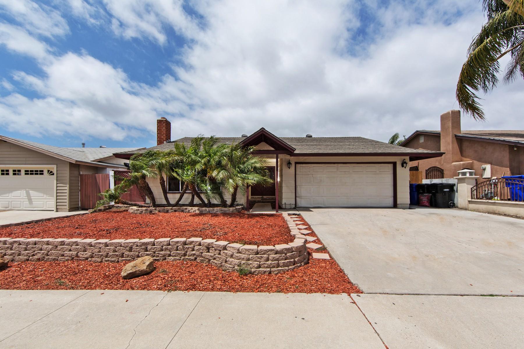 Maison unifamiliale pour l Vente à 3924 Kimsue Way San Diego, Californie, 92154 États-Unis