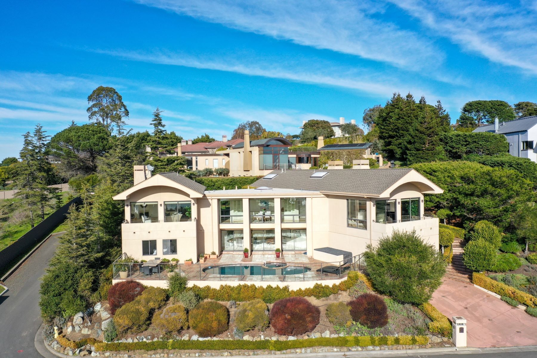 Property for Sale at Hilltop Contemporary! 5 Gilmartin Ct, Tiburon, California 94920 United States