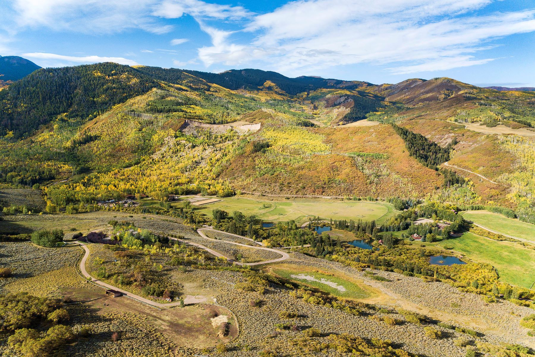 Single Family Homes por un Venta en Henry Ranch 7846/7850 Snowmass Creek Rd, Snowmass, Colorado 81654 Estados Unidos