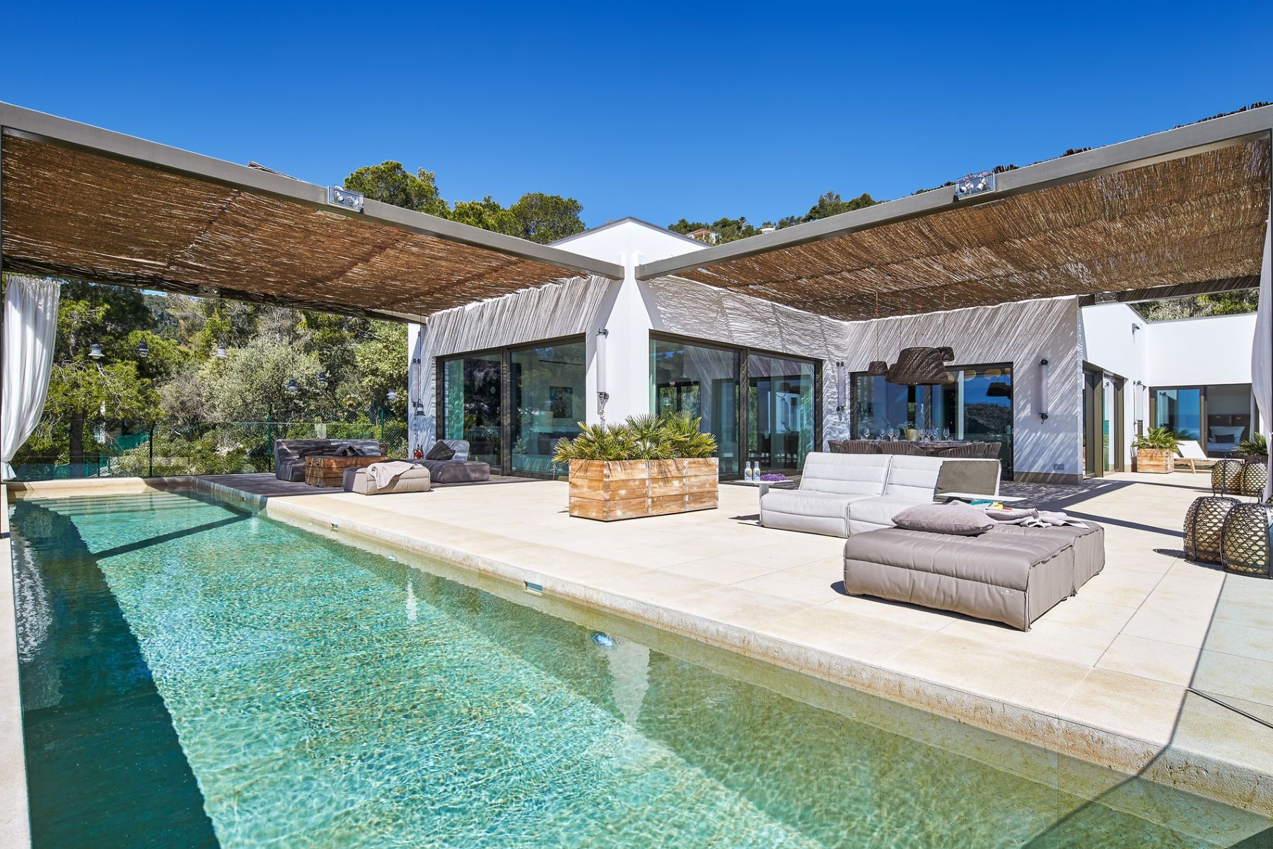 Single Family Home for Sale at Unique designer villa in Son Vida Other Balearic Islands, Balearic Islands, Spain