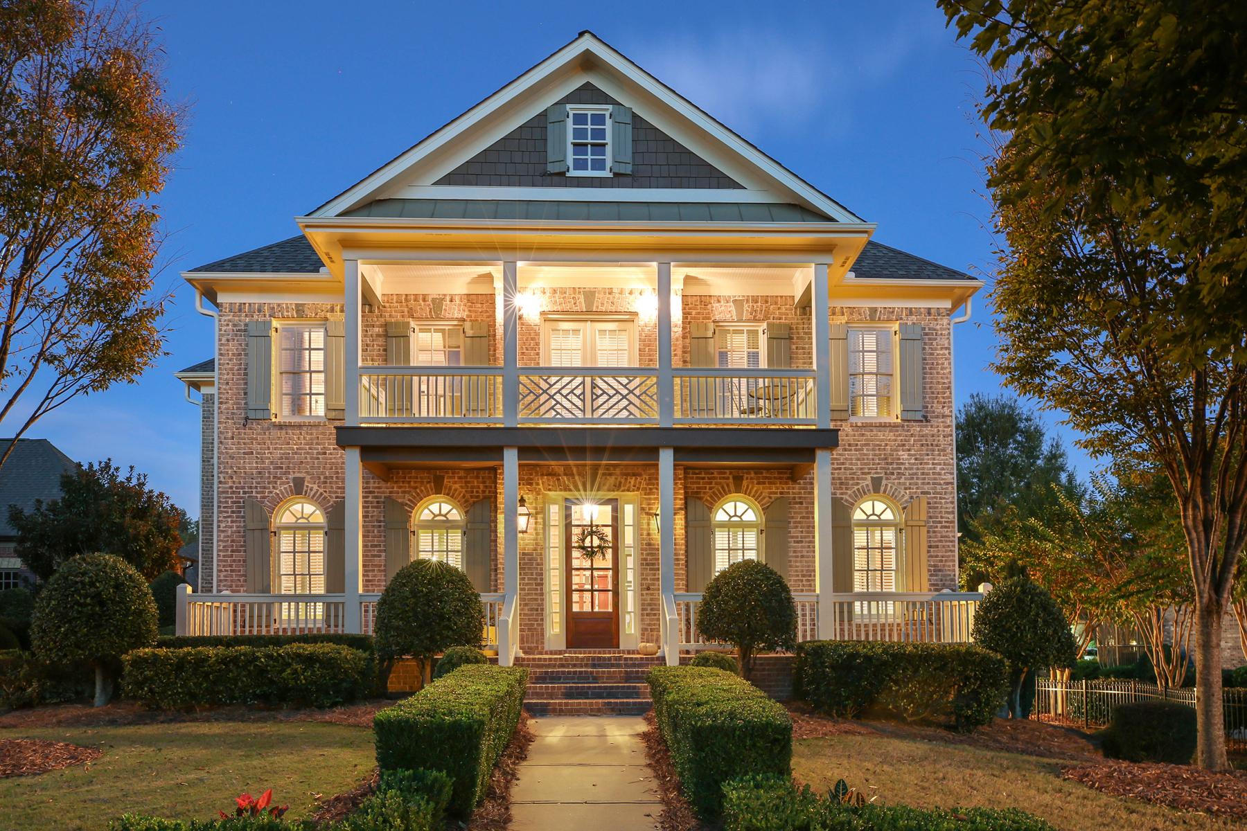 단독 가정 주택 용 매매 에 Quintessential Traditional Southern Home 12525 Needham Street Alpharetta, 조지아 30004 미국