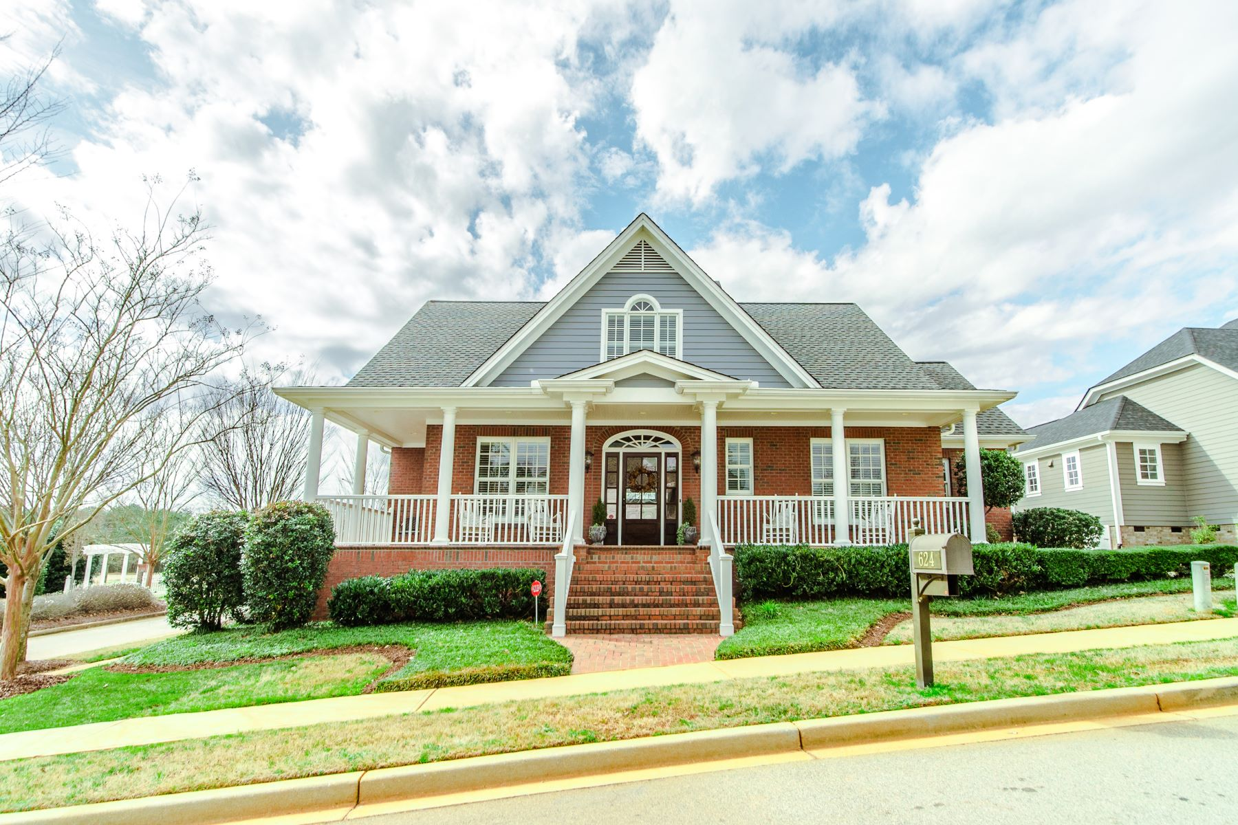 Single Family Homes for Sale at Beautiful Custom Home! 624 Berkmans Lane Greenville, South Carolina 29605 United States