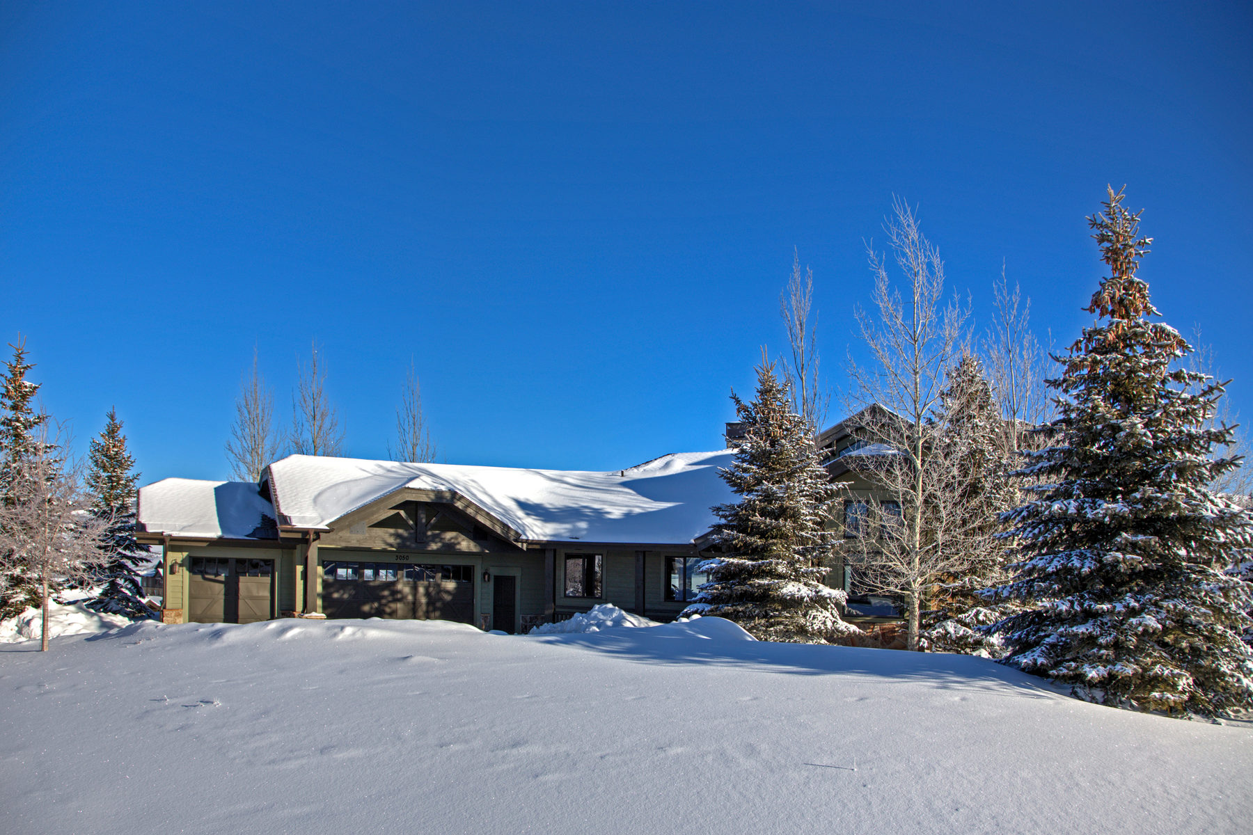 Single Family Home for Sale at Mountain Comfort in Wapiti Canyon, Promontory 3050 E Wapiti Canyon Rd Park City, Utah, 84098 United States