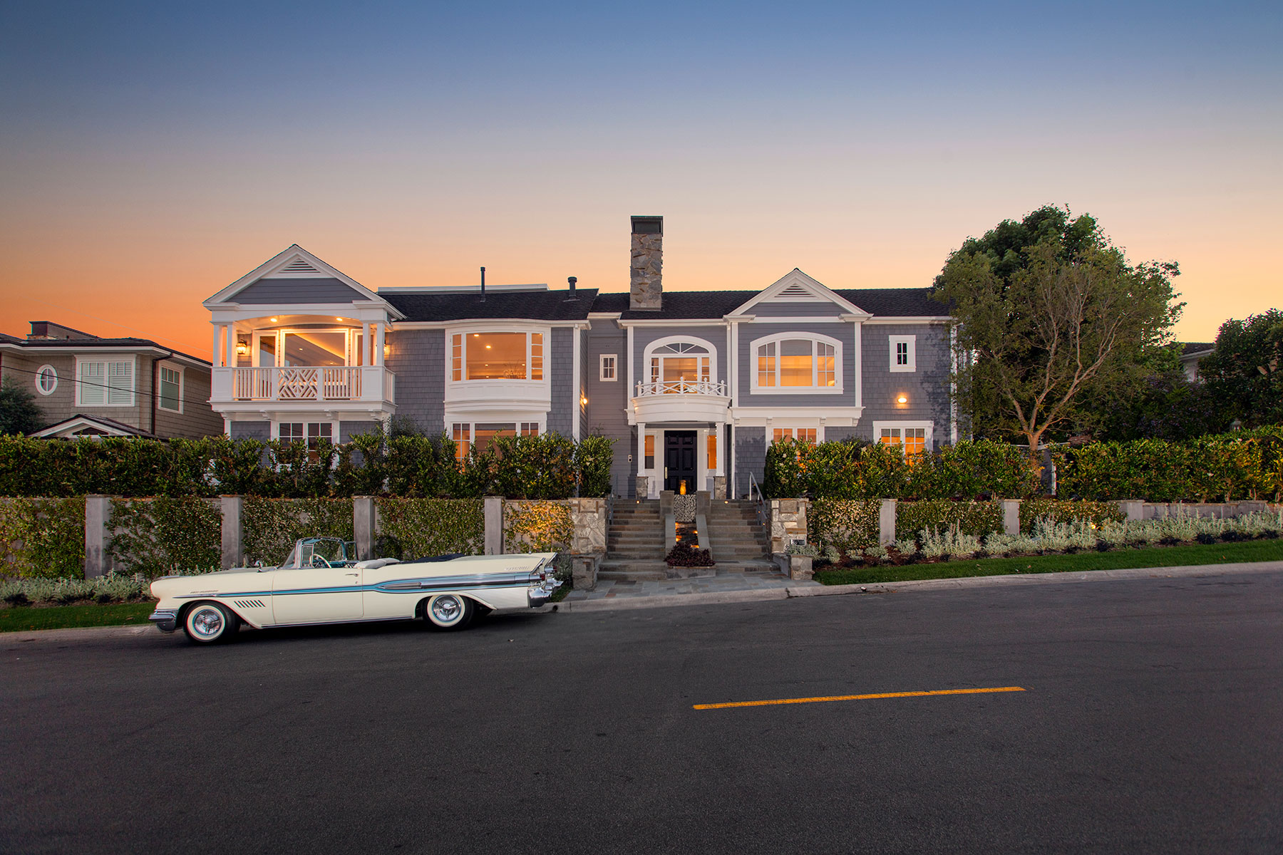 Maison unifamiliale pour l Vente à 125 Kings Newport Beach, Californie, 92663 États-Unis
