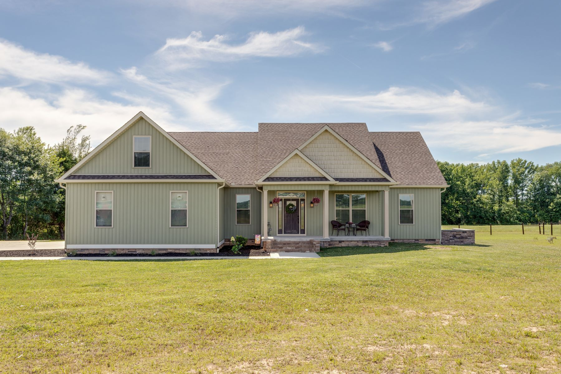 single family homes for Sale at Custom Built 2017 198 Carmargo Road Fayetteville, Tennessee 37334 United States