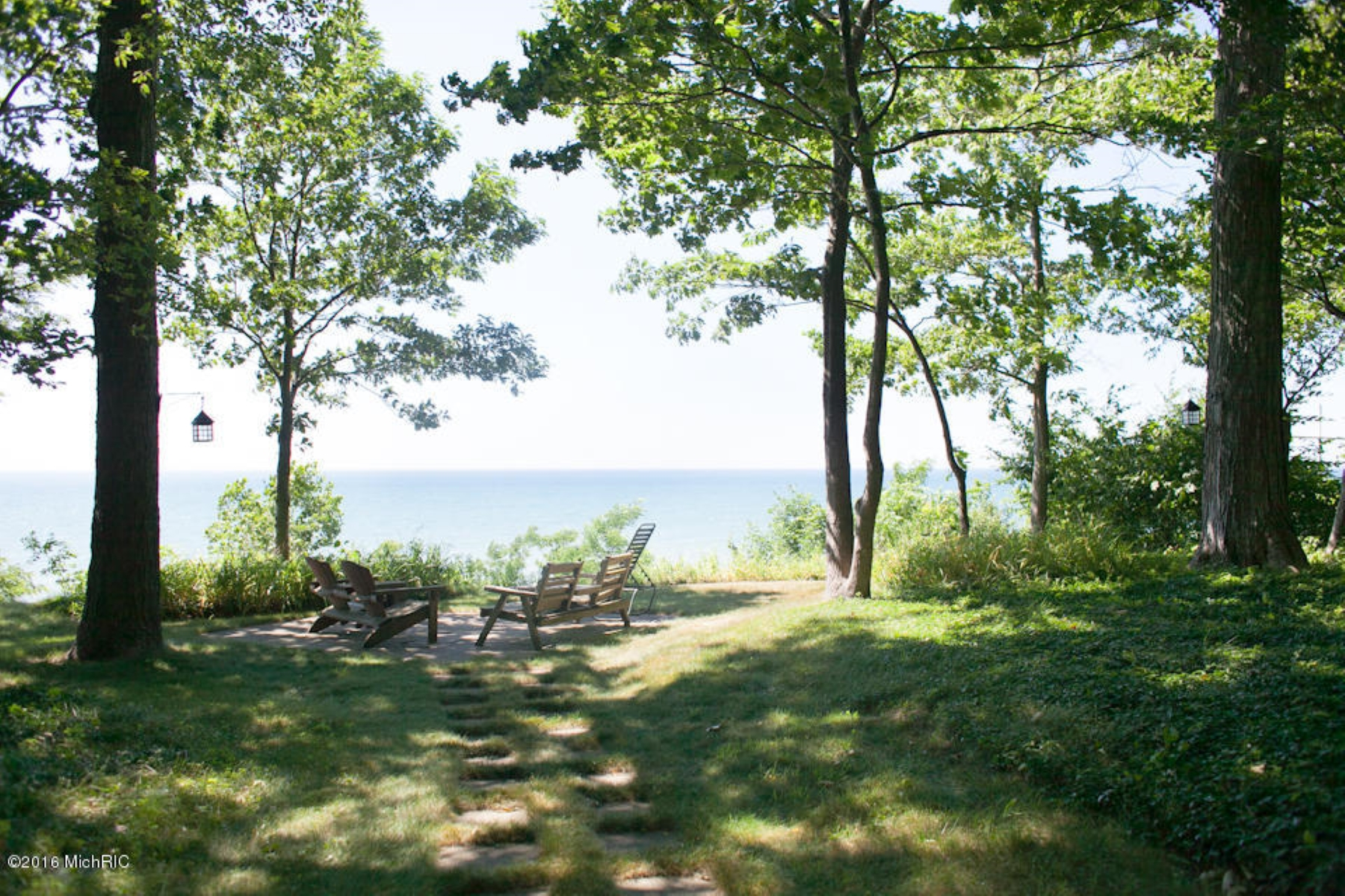 Single Family Homes for Sale at Inspiring Waterfront Home 1150 Orchard Lake Drive South Haven, Michigan 49090 United States