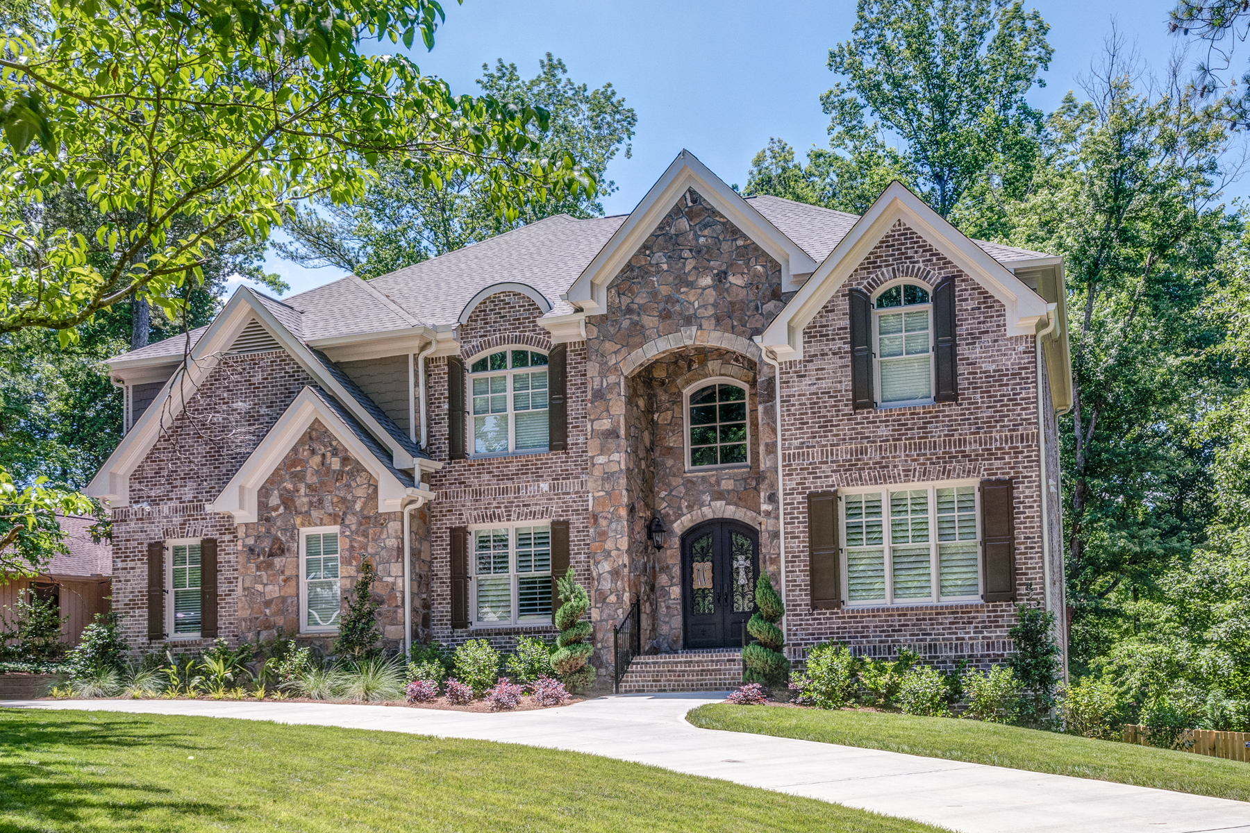 Single Family Home for Sale at New Construction Custom Home - Country Club Living 4275 Fairgreen Dr Marietta, Georgia 30068 United States