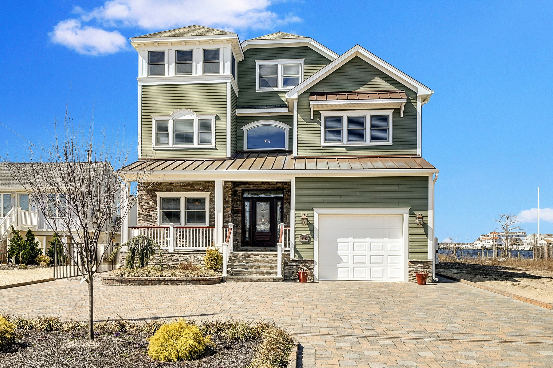 一戸建て のために 売買 アット Spectacular Custom Designed Bayfront Home 2027 Bay Boulevard, Ortley Beach, ニュージャージー, 08751 アメリカ合衆国