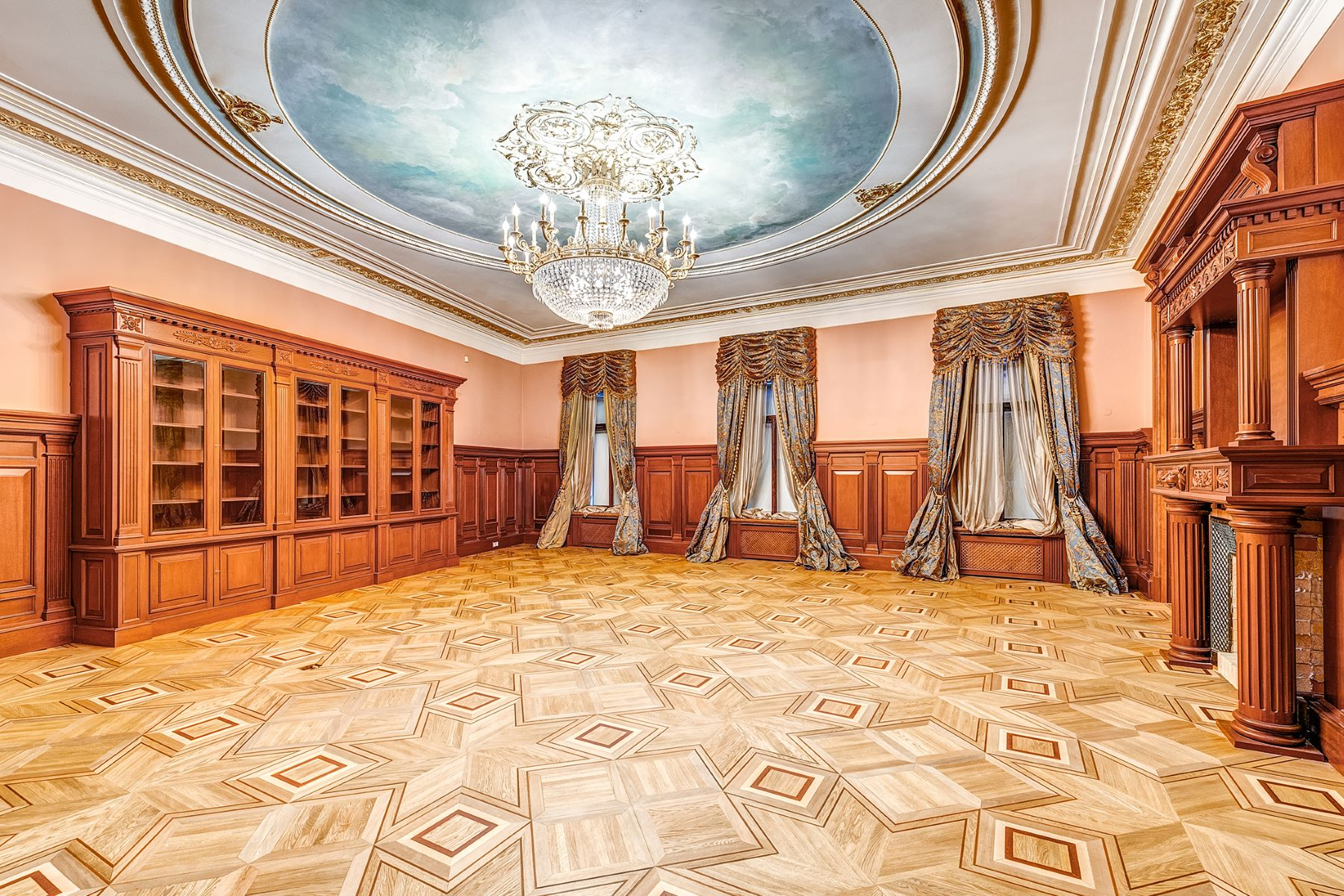 Casa Unifamiliar por un Venta en Historic house of the 19-20th century Moscow City, Moscu Rusia