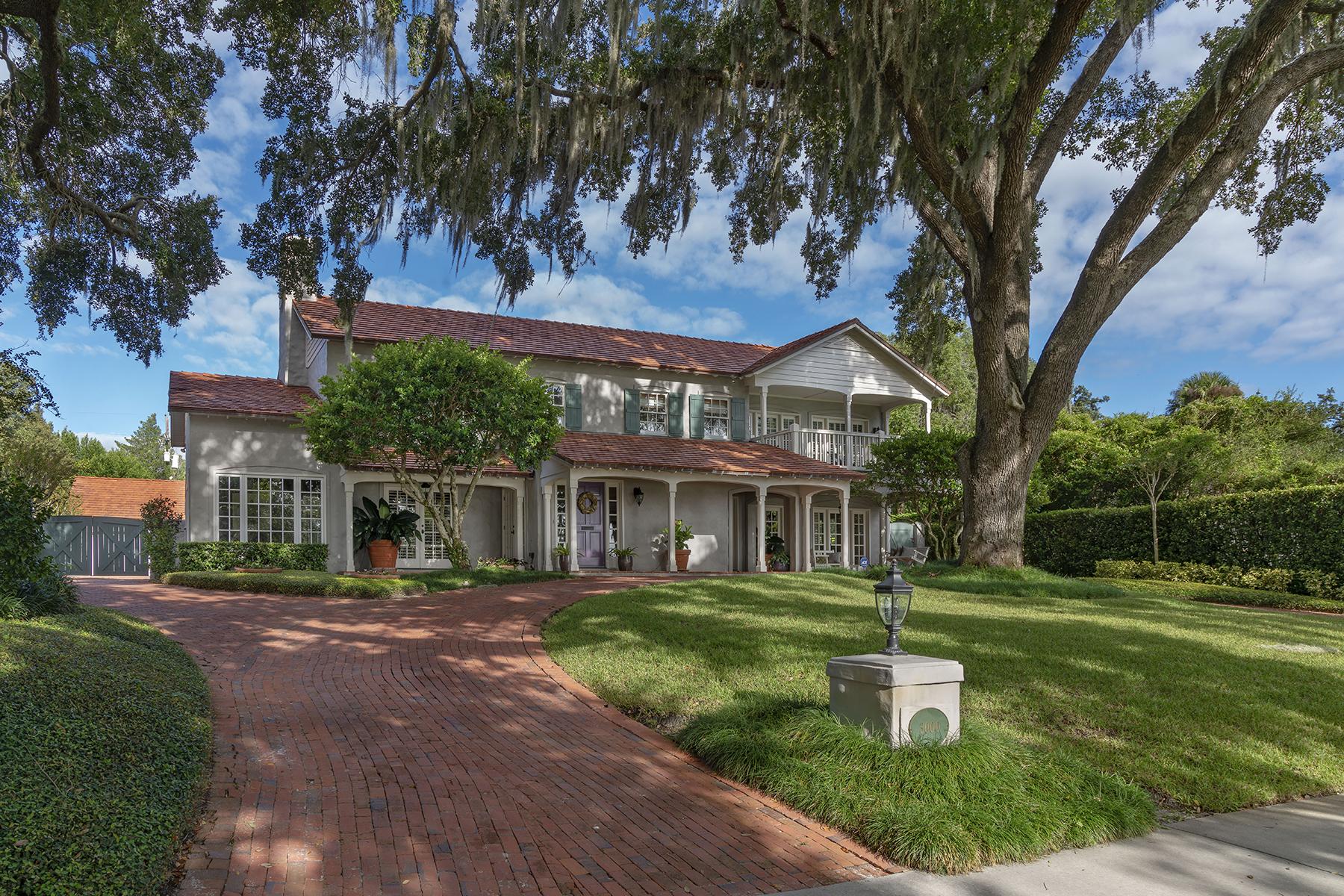 Single Family Homes por un Venta en ORLANDO 3000 Lake Shore Dr, Orlando, Florida 32803 Estados Unidos