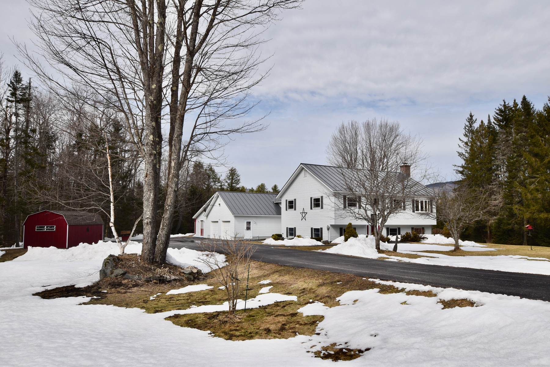 Single Family Homes for Sale at Slice of Heaven-Private Ten Acres-Custom Home-Huge 9417 Cold River Road Shrewsbury, Vermont 05738 United States