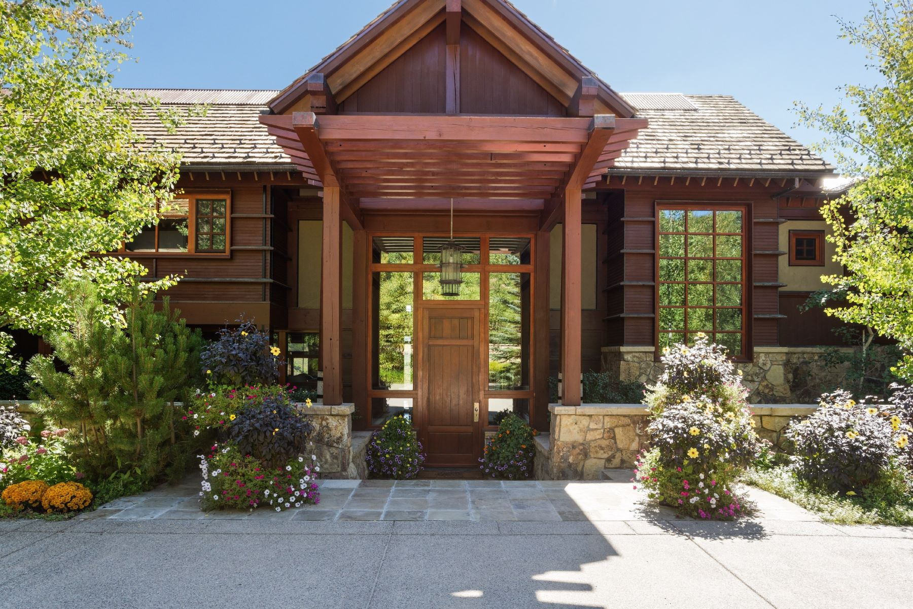 Einfamilienhaus für Verkauf beim Wildcat Ranch 5941 Lake Wildcat Road Snowmass Village, Colorado 81615 Vereinigte StaatenIn/Rund um: Aspen