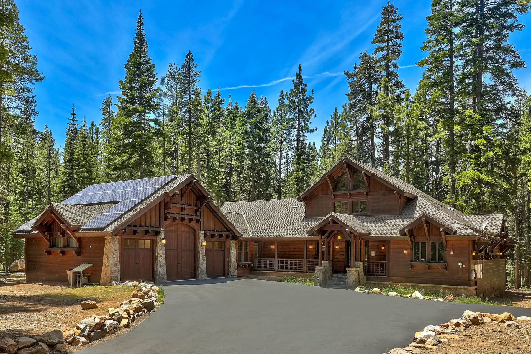 Single Family Homes for Active at 4 Bed 3 Bath Home on 10.98 Acres 12115 Oslo Drive Truckee, California 96161 United States