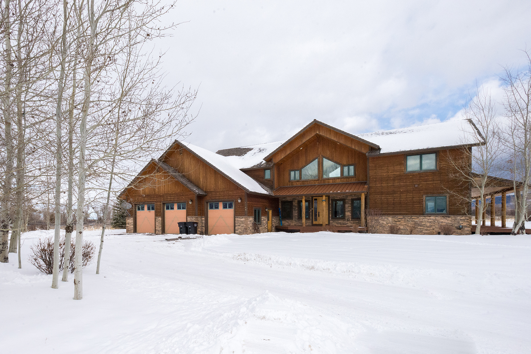 Single Family Home for Active at 3526 Edge Braid Ct Driggs, Idaho 83422 United States
