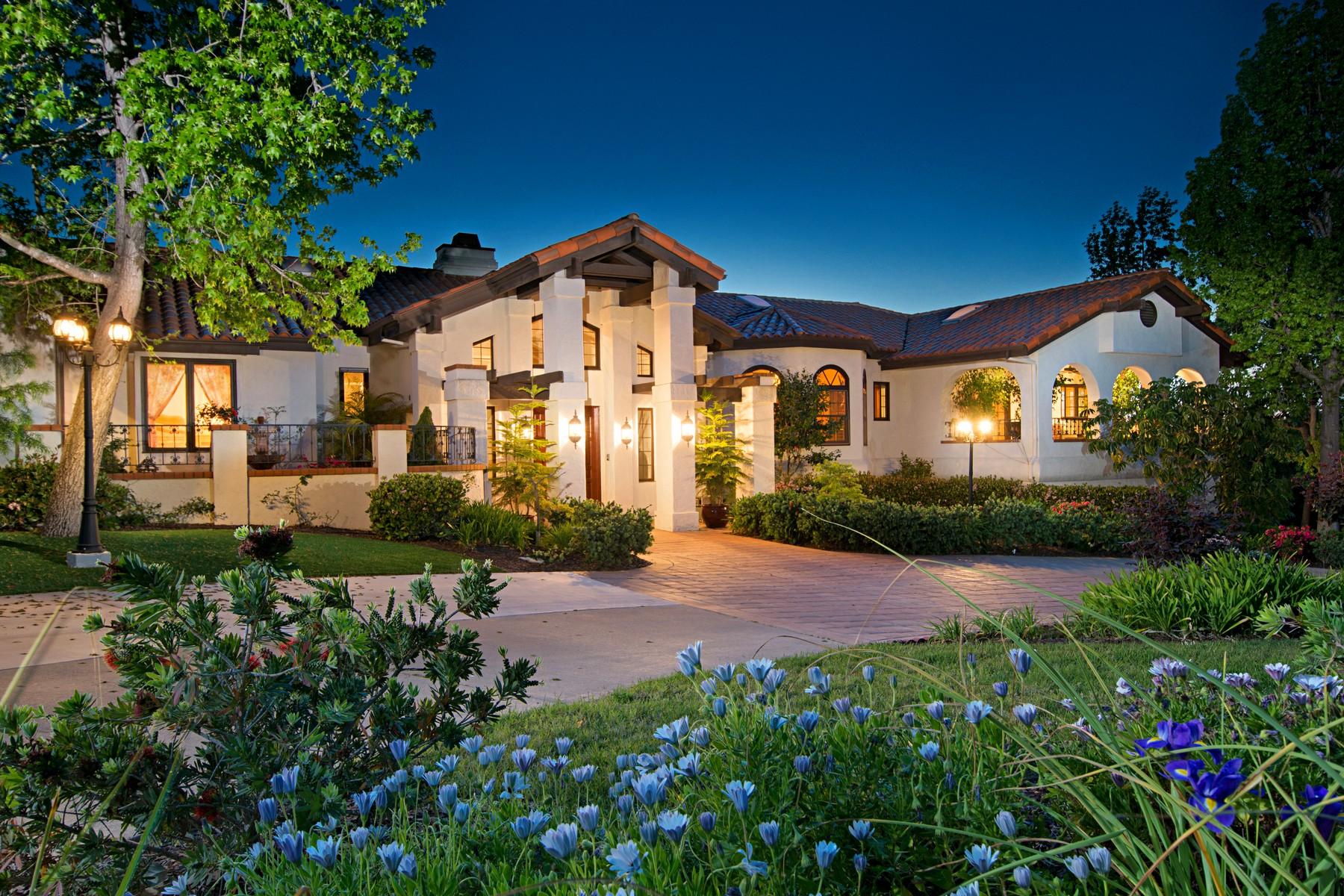 """獨棟家庭住宅 為 出售 在 18656 Avenida Cordillera in """"The Trails"""" Rancho Bernardo Rancho Bernardo, San Diego, 加利福尼亞州, 92128 美國"""