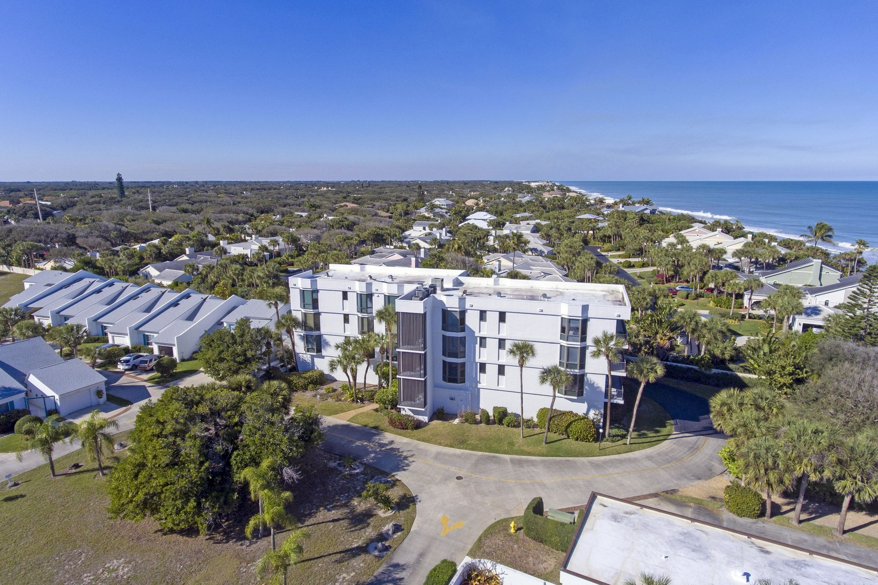 condominiums for Sale at Second Floor Condo With Ocean Views 5810 Highway A1A #2B Vero Beach, Florida 32963 United States