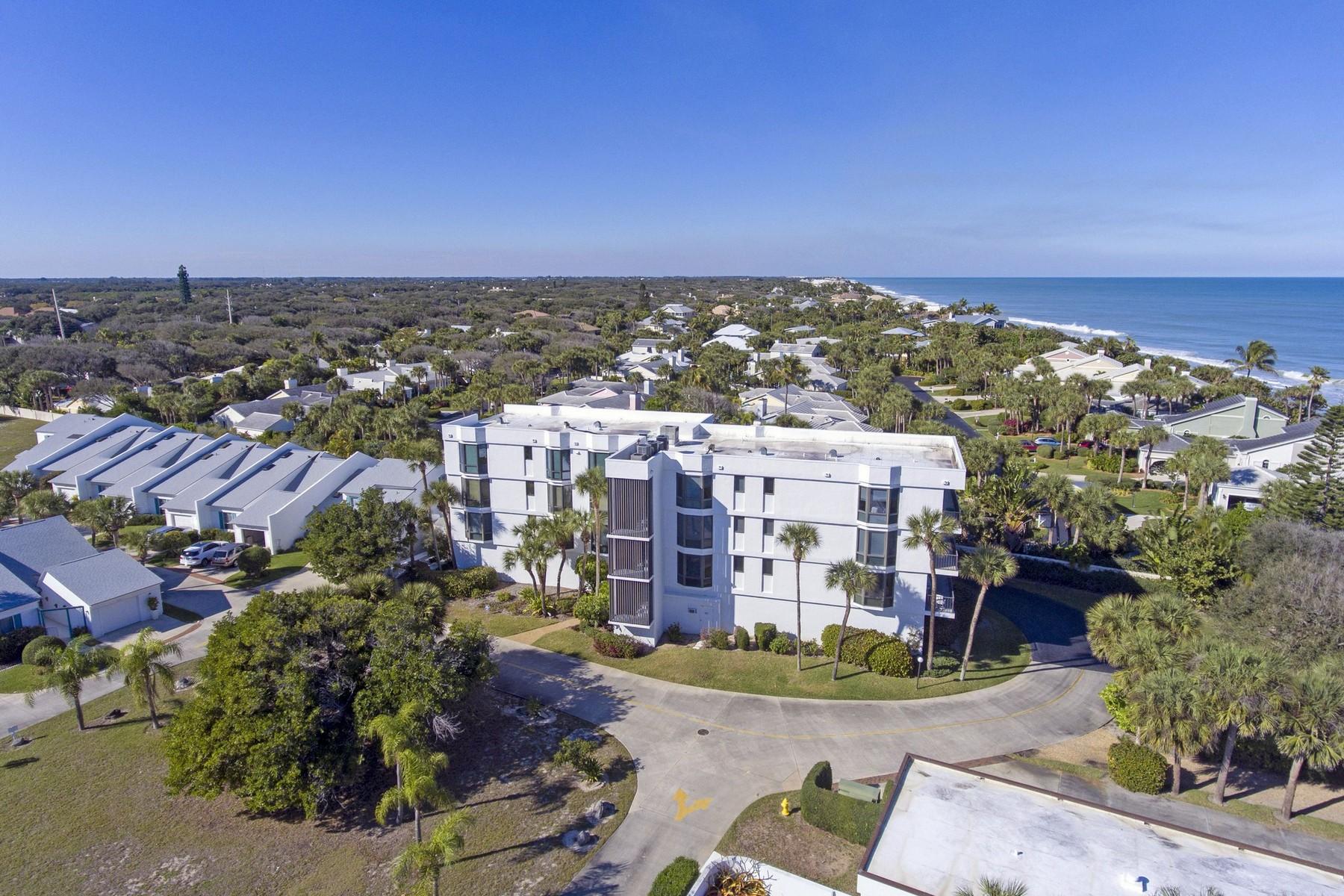 Condominium for Sale at Second Floor Condo With Ocean Views 5810 Highway A1A #2B Vero Beach, Florida 32963 United States