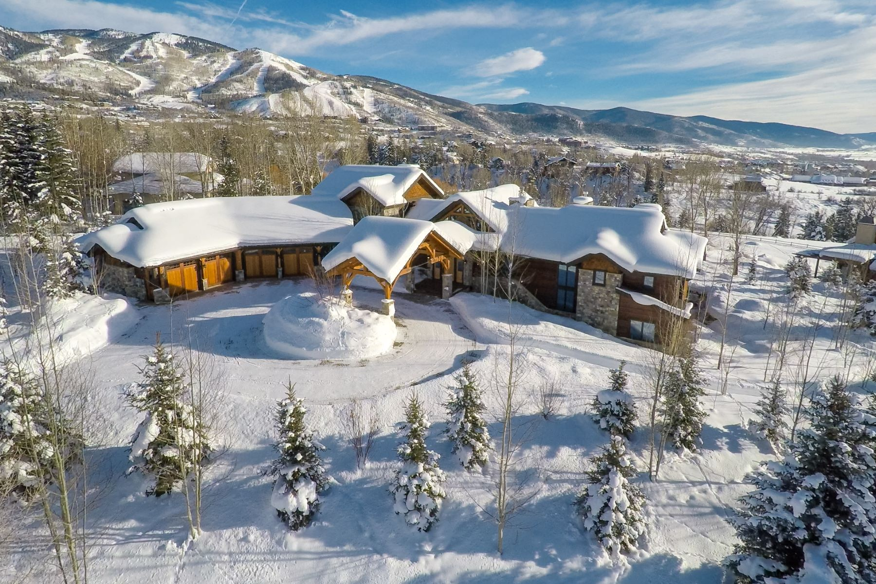 Single Family Home for Sale at Mountain Luxury on Anglers Drive 1055 Anglers Dr Steamboat Springs, Colorado 80487 United States