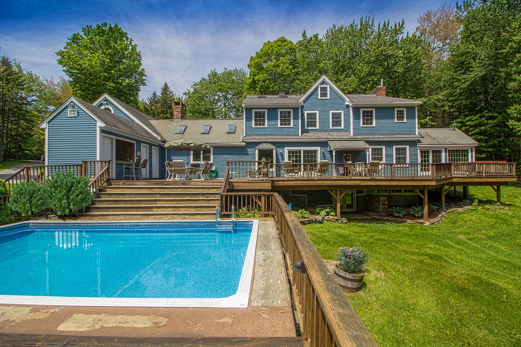 Single Family Homes for Sale at Attractive Country Estate 678 Stone House Rd Whitingham, Vermont 05342 United States