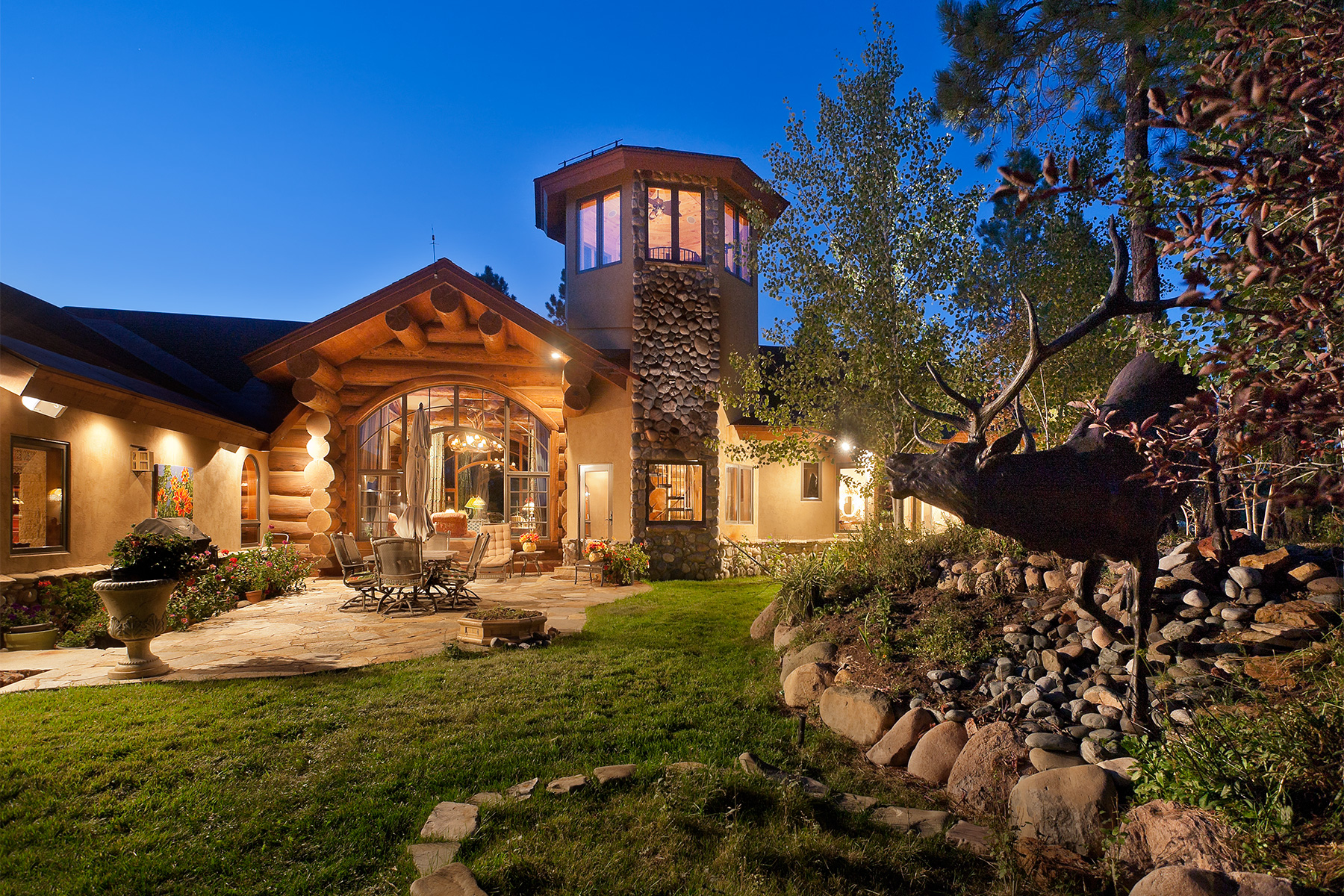 Single Family Home for Active at Elk Pointe Estate 3101 Hidden Valley Drive Pagosa Springs, Colorado 81147 United States