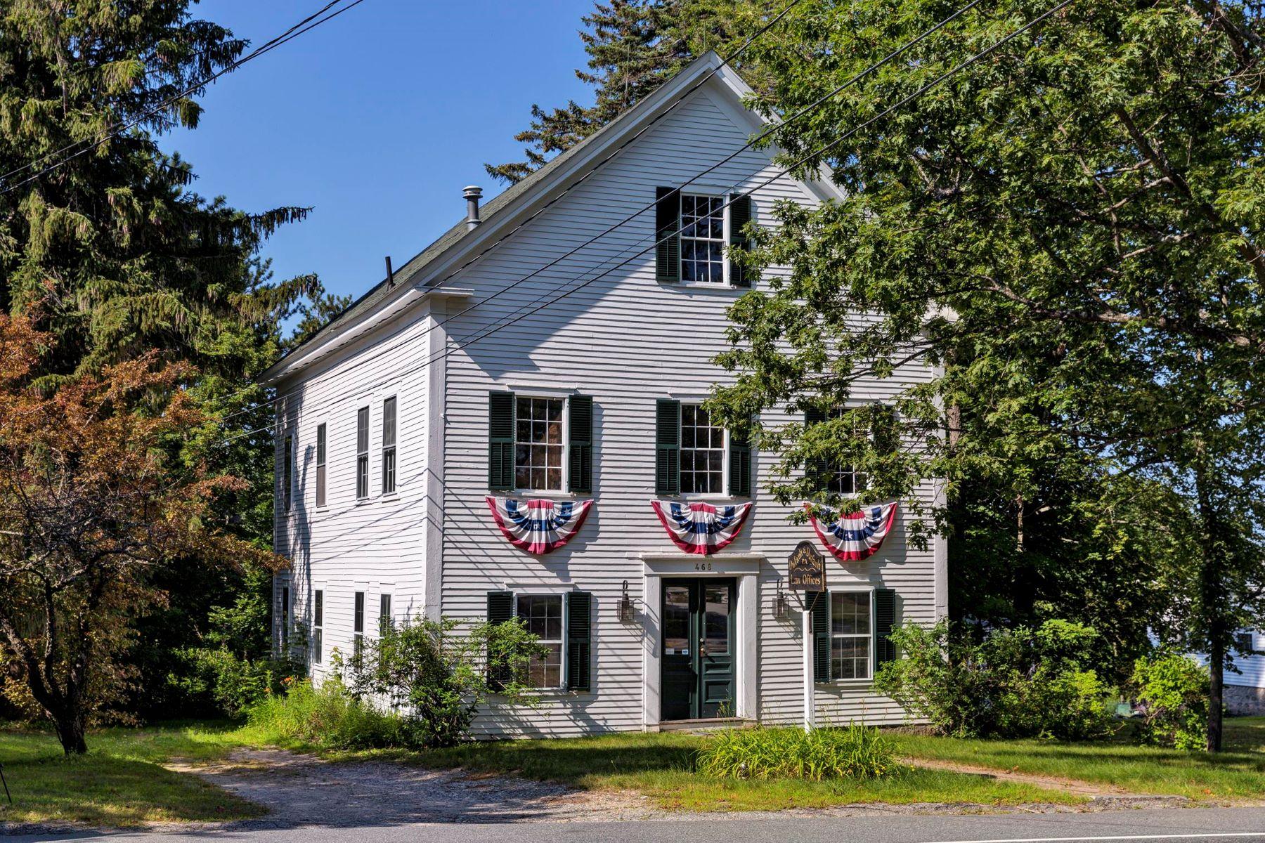 Single Family Homes por un Venta en The Historic Grange 468 Main St New London, Nueva Hampshire 03257 Estados Unidos