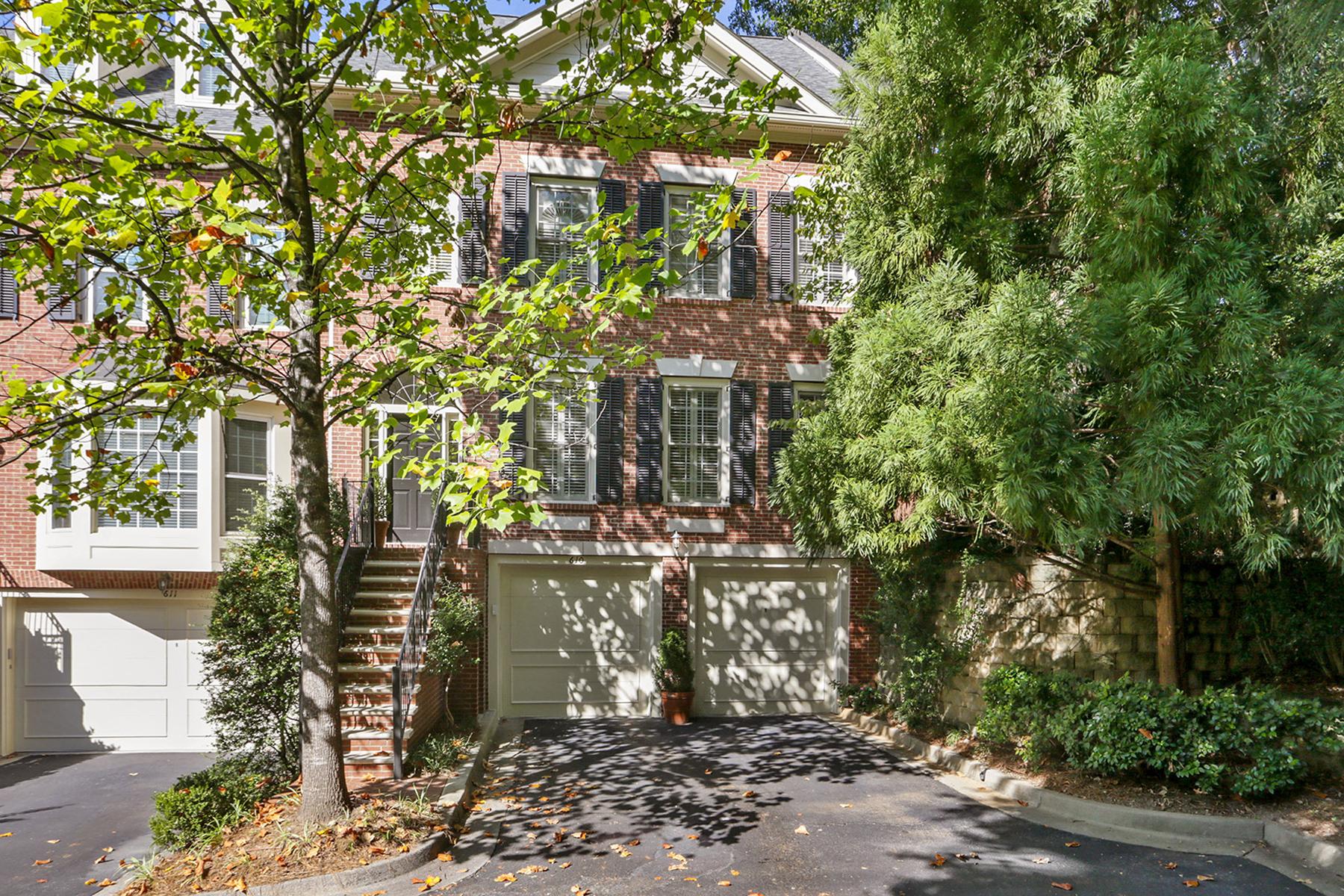 Property por un Venta en Townhome Perfection 1735 Peachtree Street NE No. 610, Atlanta, Georgia 30309 Estados Unidos