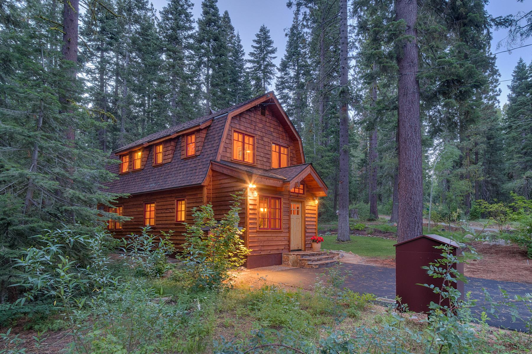 独户住宅 为 销售 在 3980 Doe Avenue, Homewood, CA 霍姆伍德, 加利福尼亚州, 96141 Lake Tahoe, 美国