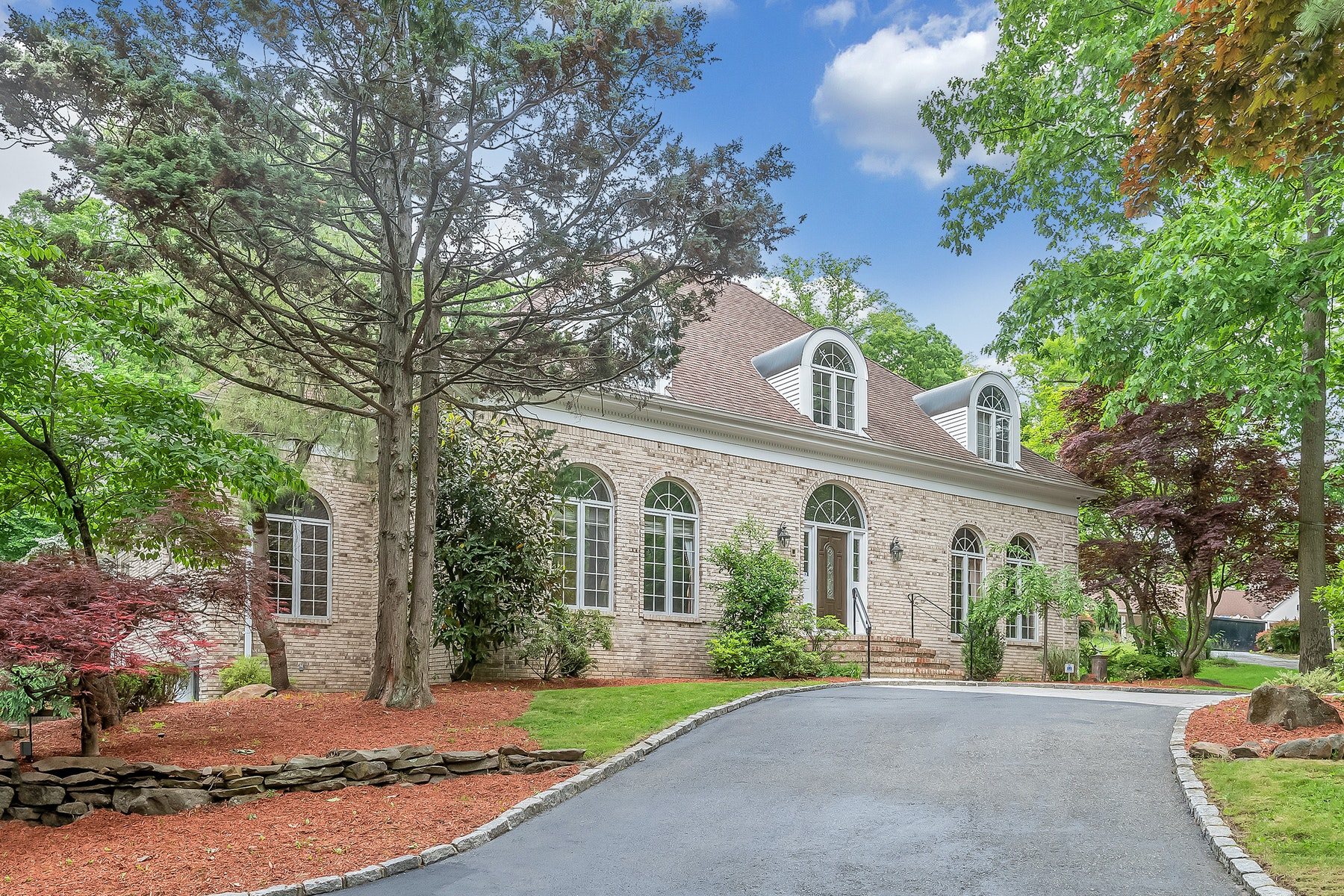 Single Family Homes for Sale at Custom Built Center Hall Colonial 107 West Greenbrook Road, North Caldwell, New Jersey 07006 United States