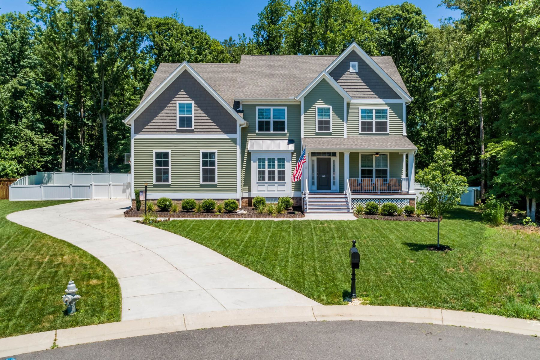 Single Family Homes للـ Sale في Patriots Landing 3140 Ponderosa Pine Lane, Quinton, Virginia 23141 United States
