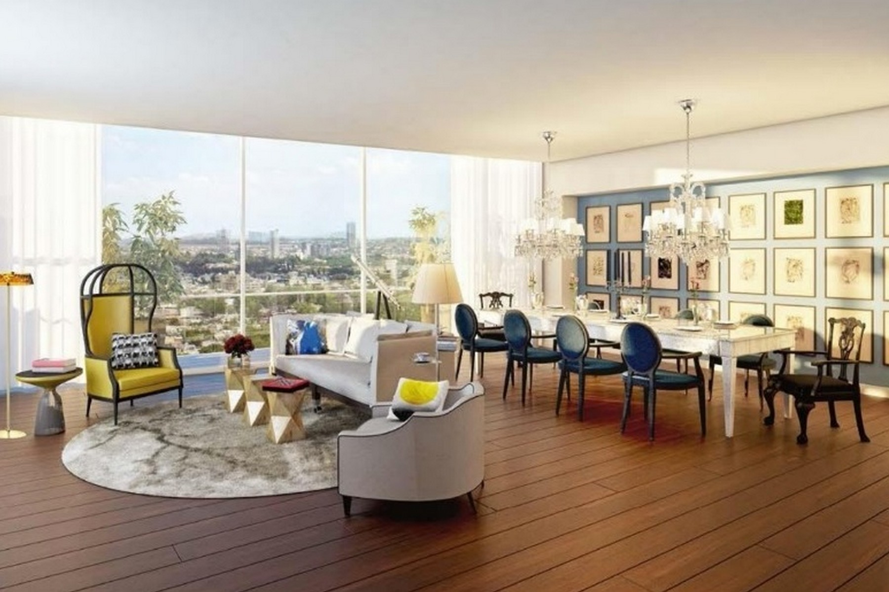 Apartment for Sale at Philippe Starck Penthouse 02 at The Limited Mexico City, Ciudad de Mexico Mexico