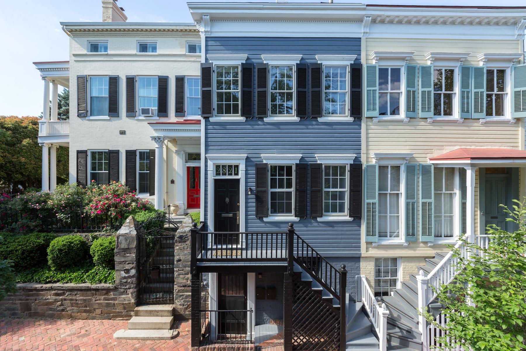 Residência urbana para Venda às 2821 N Street Nw, Washington Washington, Distrito De Columbia, 20007 Estados Unidos