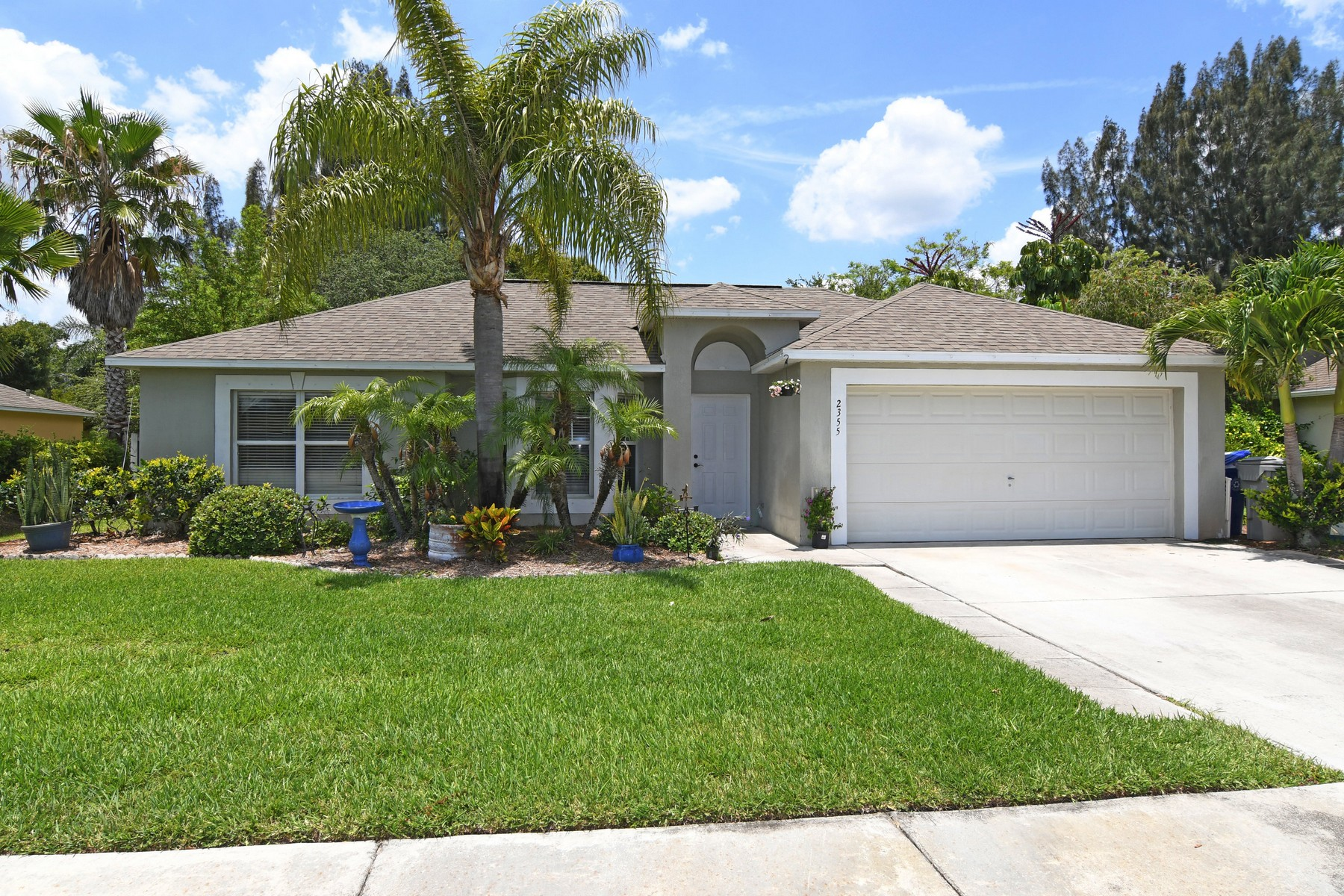 Single Family Home for Sale at Great Four Bedroom in Gate Community 2355 Compass Pointe Drive Vero Beach, Florida, 32966 United States