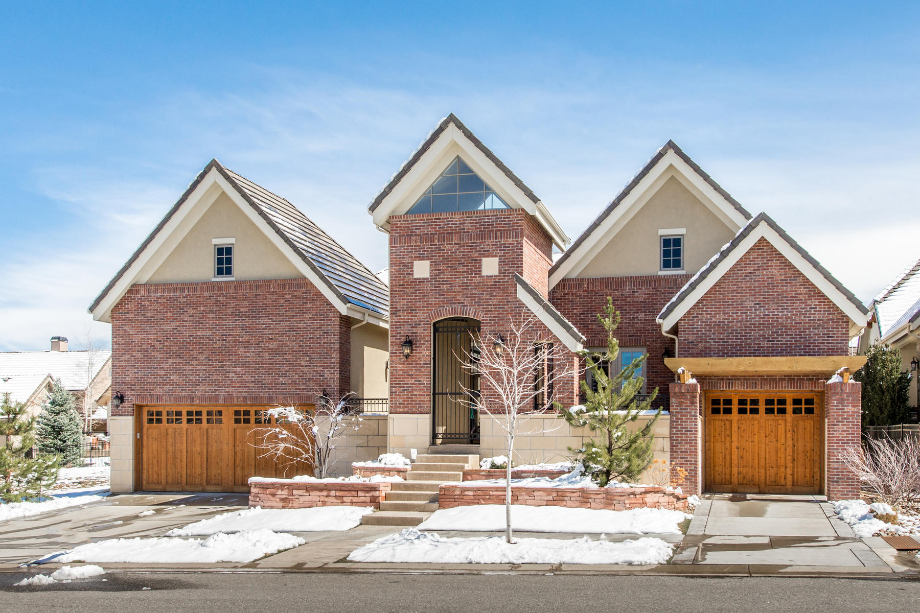 Single Family Home for Active at Exquisitely appointed ranch (morellos) style home with every upgrade imaginable. 43 Sommerset Cir Greenwood Village, Colorado 80111 United States