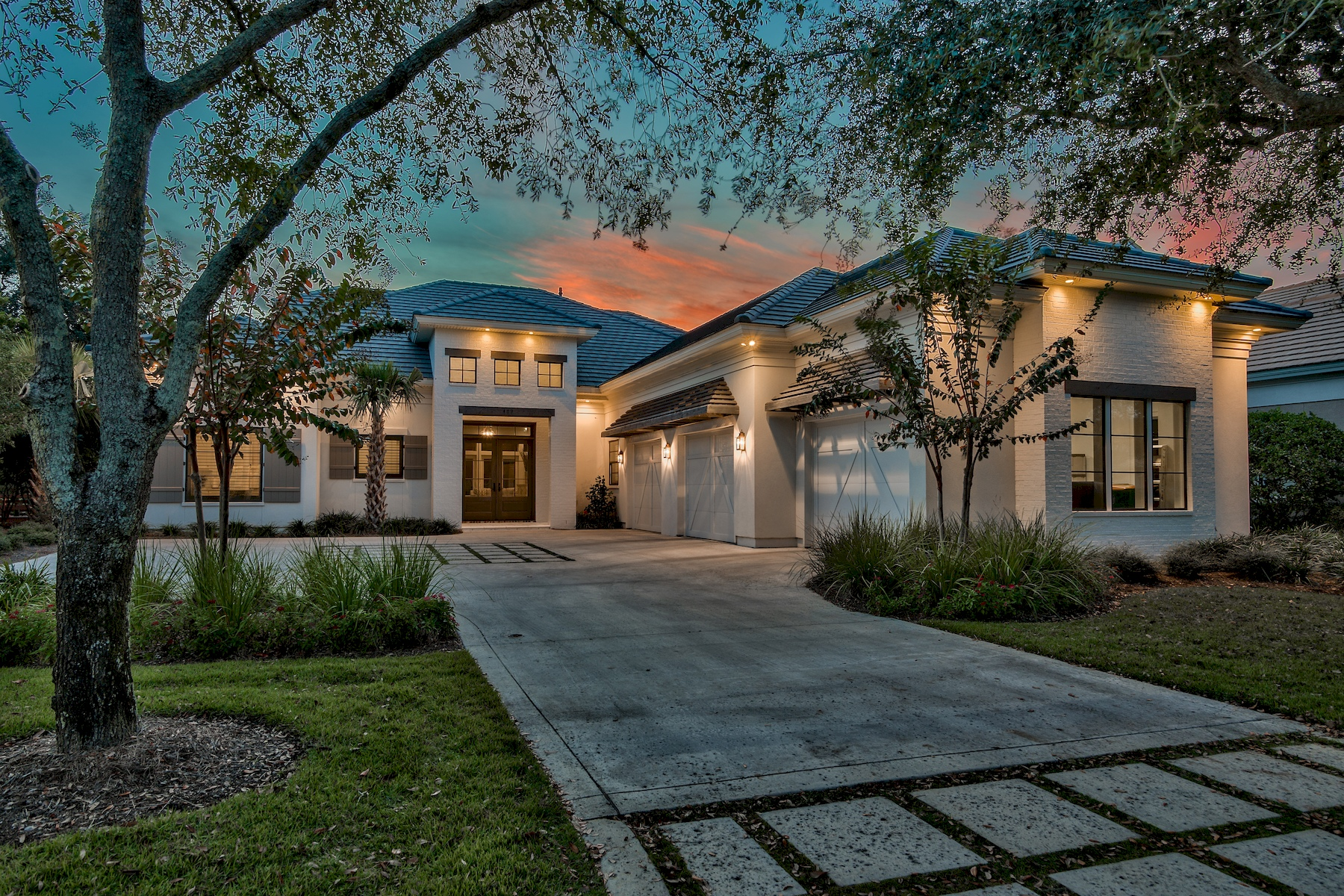 Single Family Home for Sale at Coastal Contemporary Lakefront Home in Exclusive Gated Community 489 Regatta Bay Boulevard, Destin, Florida, 32541 United States