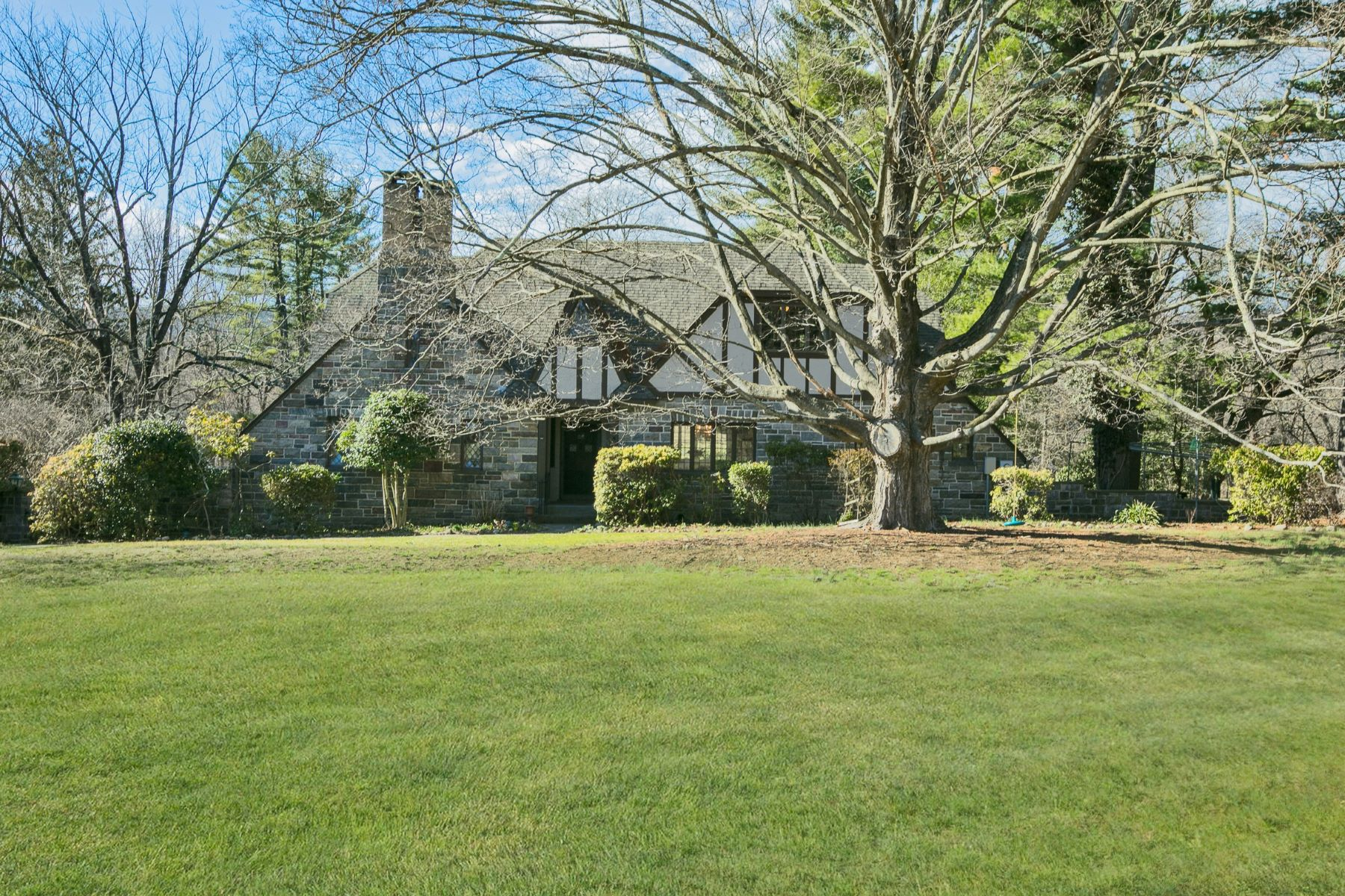 Single Family Home for Sale at c. 1925 Fieldstone Tudor 11 Mile Rd Montebello, New York, 10901 United States